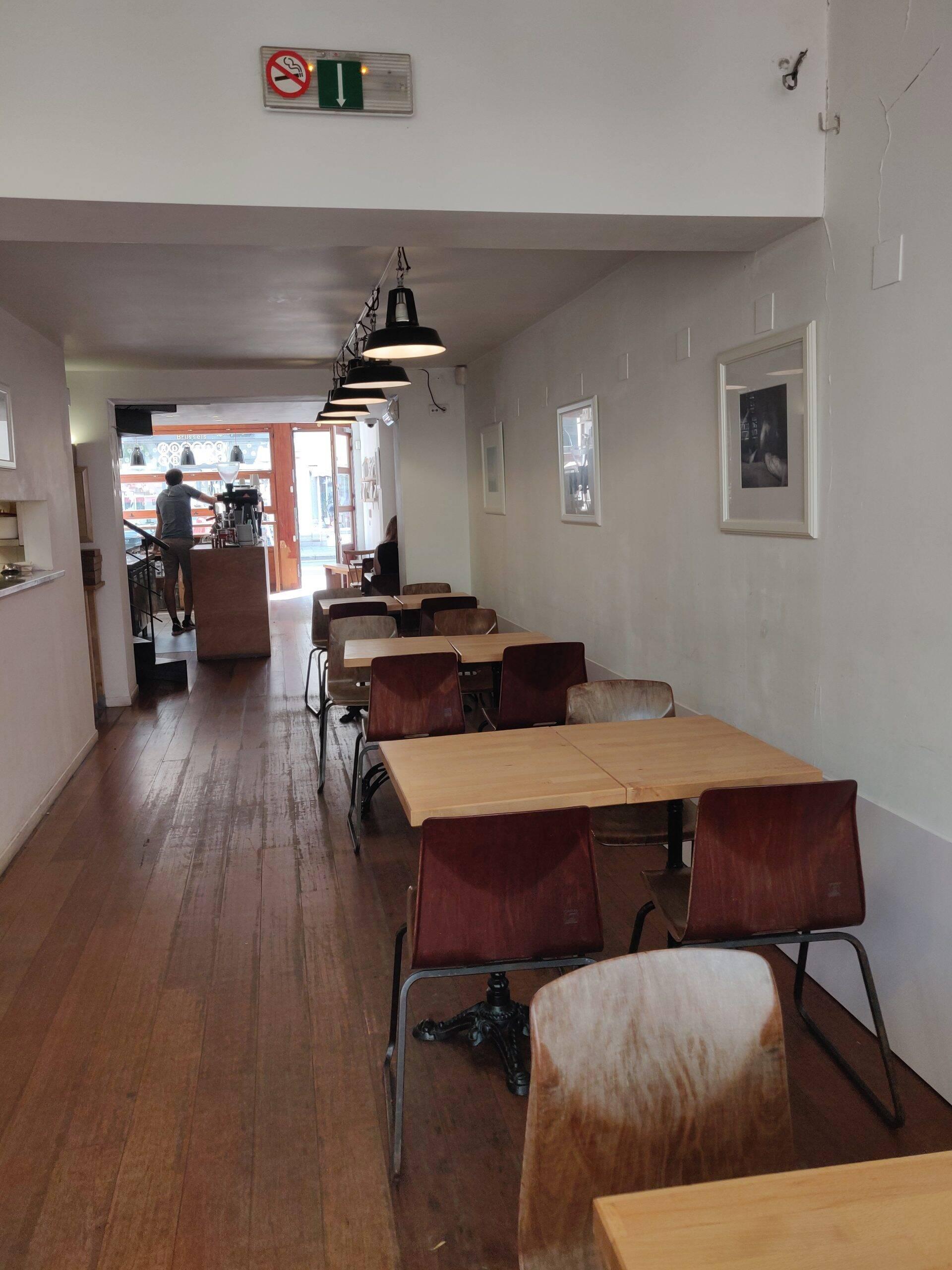 Parlor Coffee Roasters in Brussel