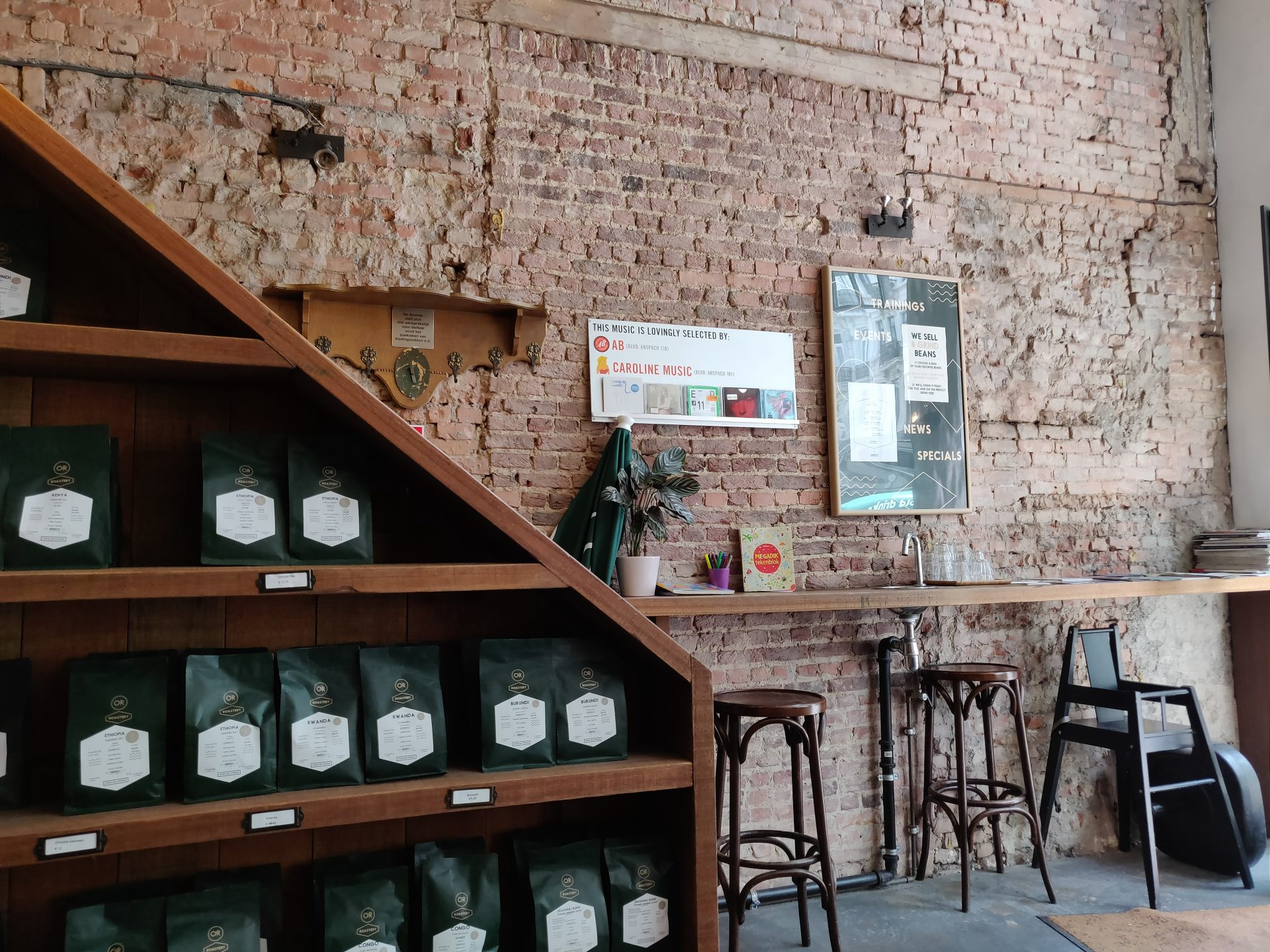 OR Coffee Bar – City Center in Brussel