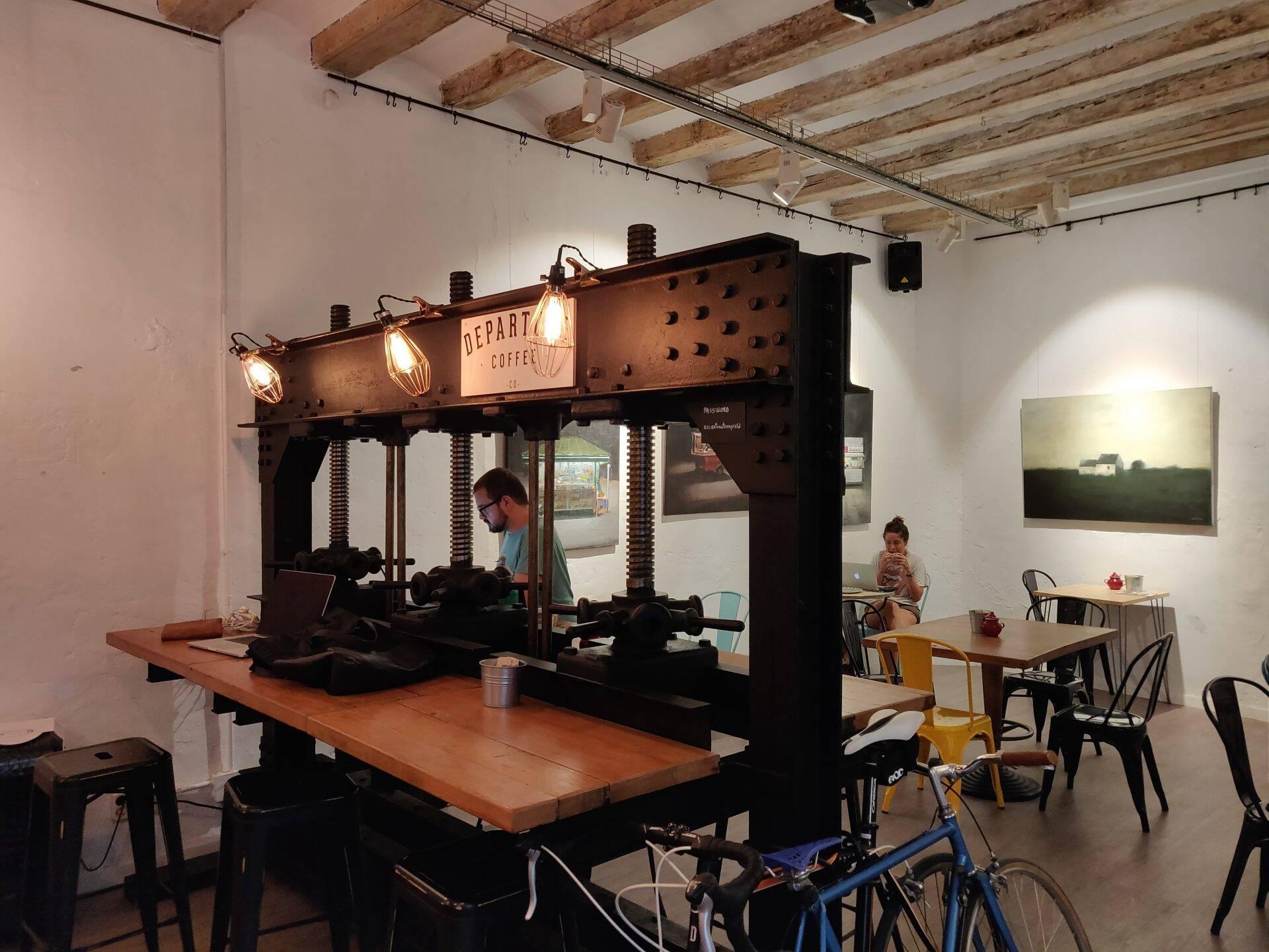 Departure Coffee Co. in Barcelona