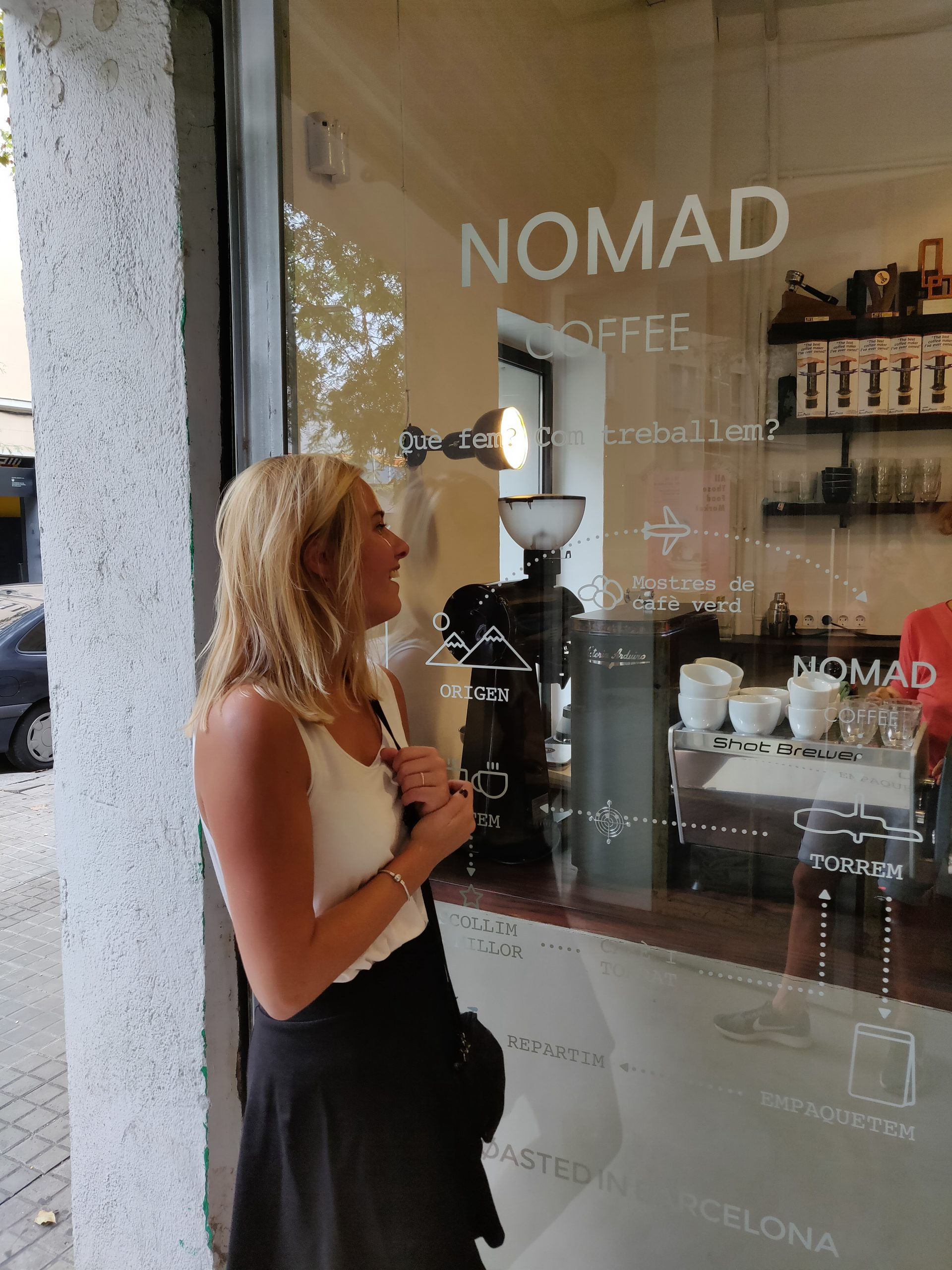 Nømad Roaster's Home in Barcelona
