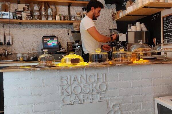 Bianchi Kiosko Caffé Madrid