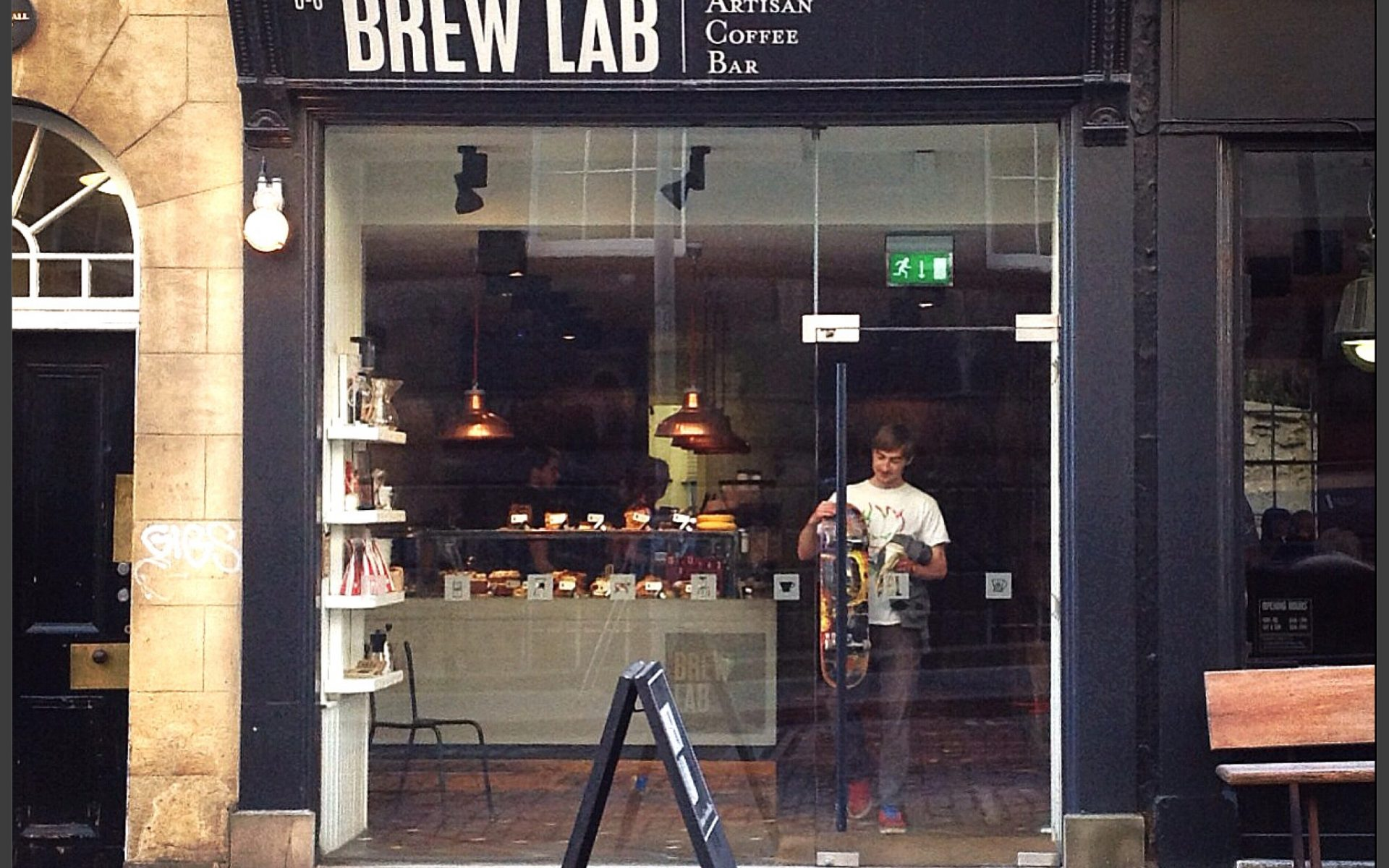 Brew Lab Coffee Edinburgh