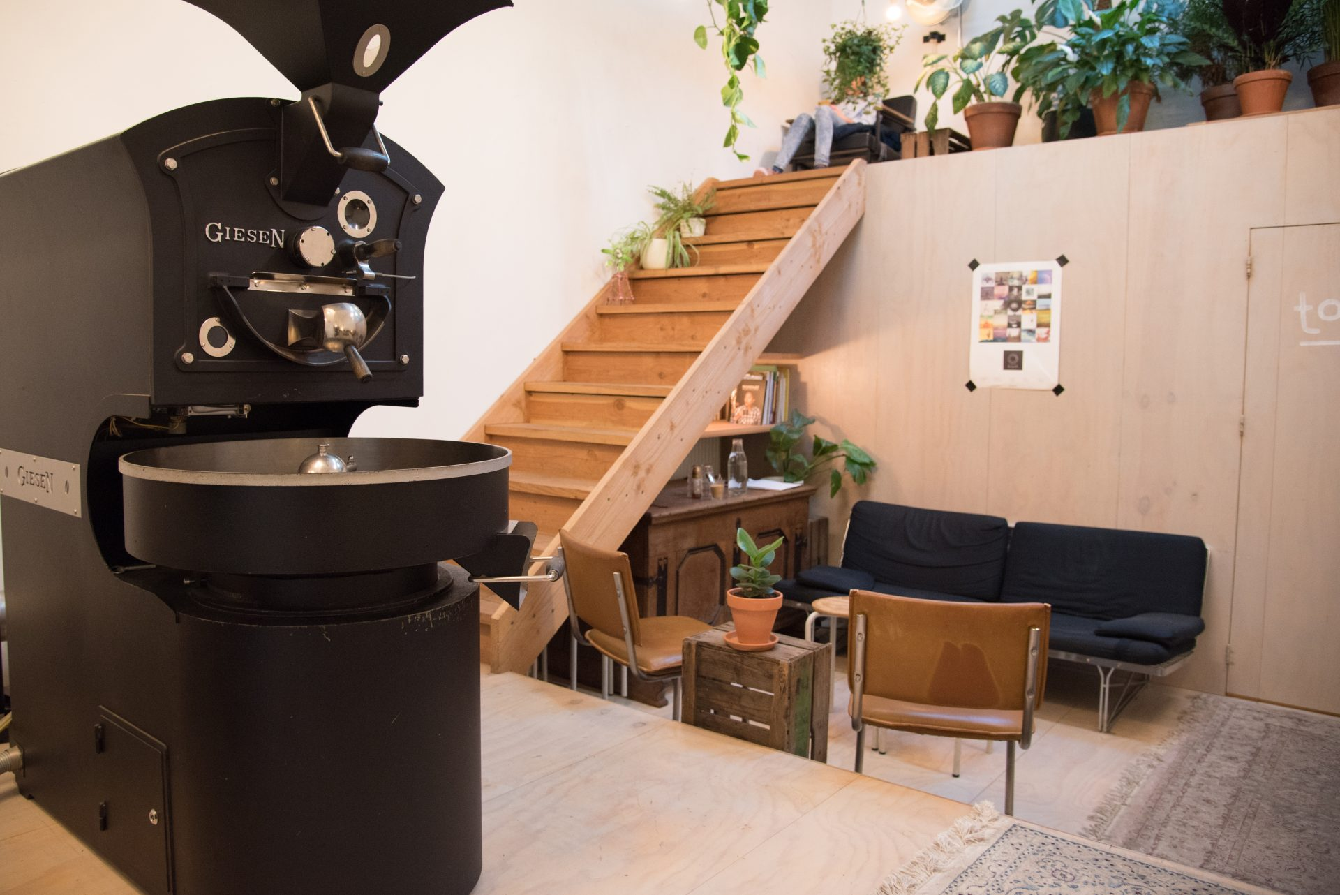 White Label Coffee in Amsterdam
