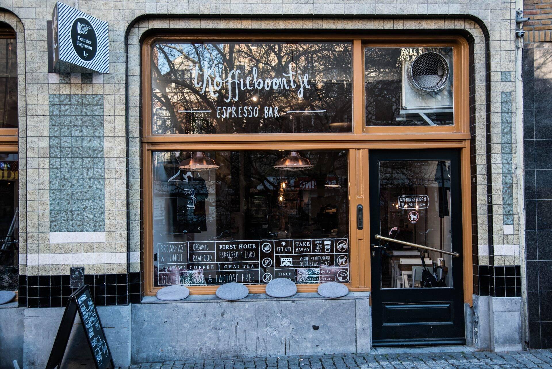 't Koffieboontje in Utrecht