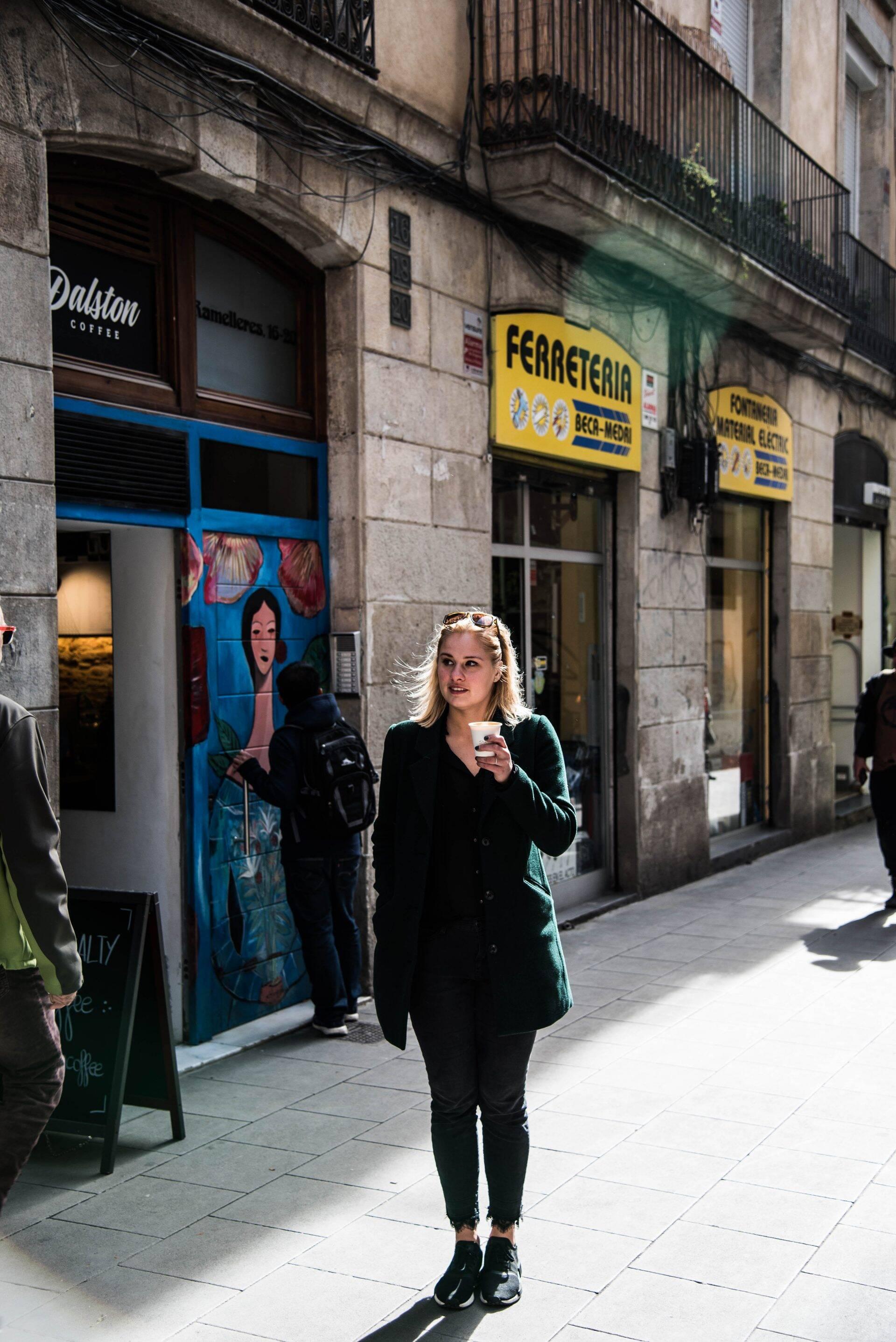 Dalston Coffee in Barcelona