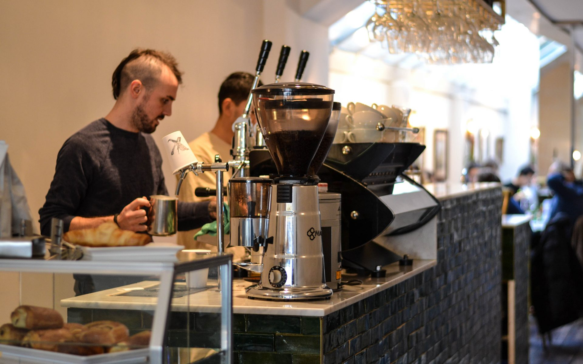 Frederix Roastery X Coffee bar Amsterdam