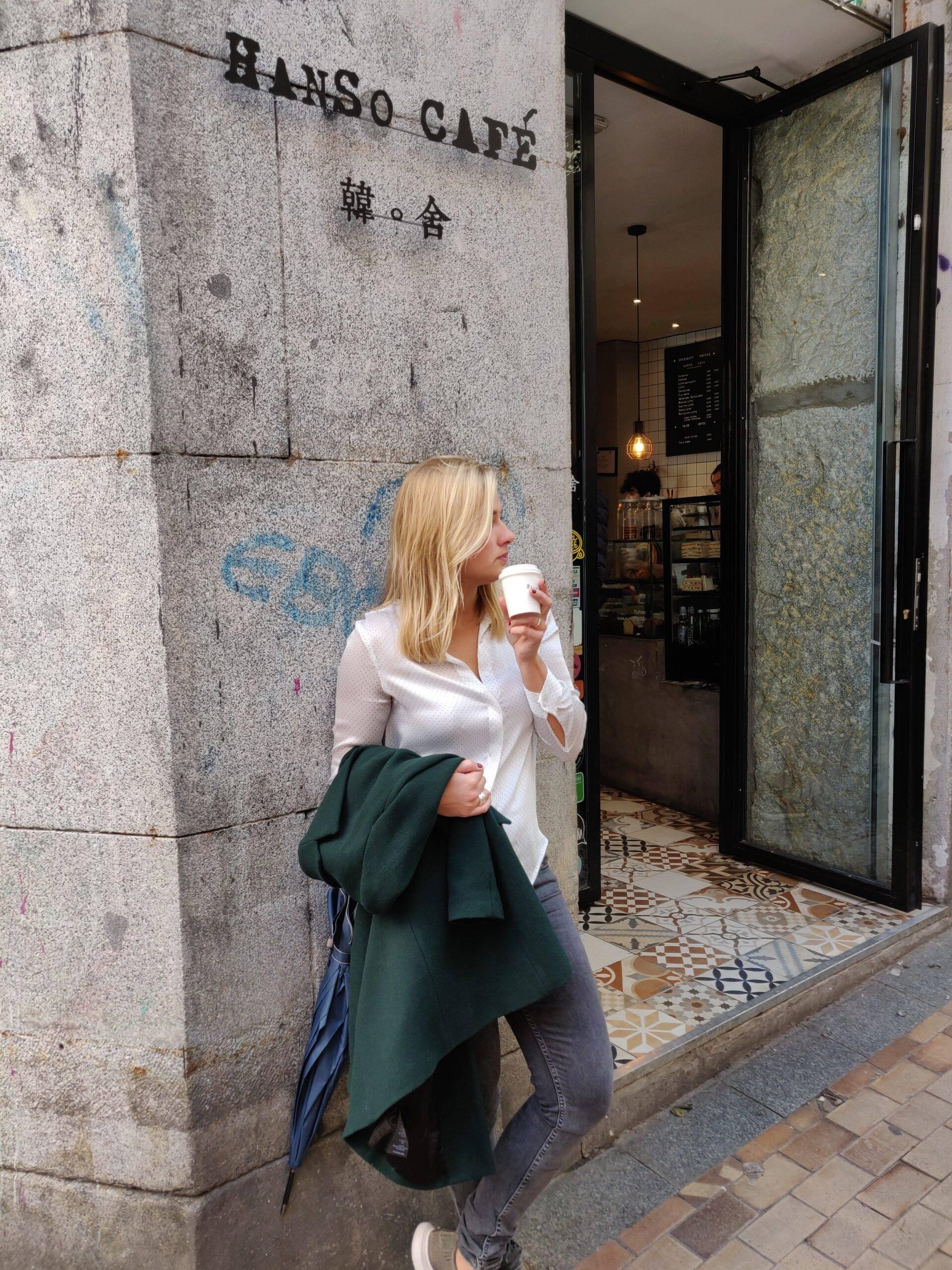 HanSo Café in Madrid
