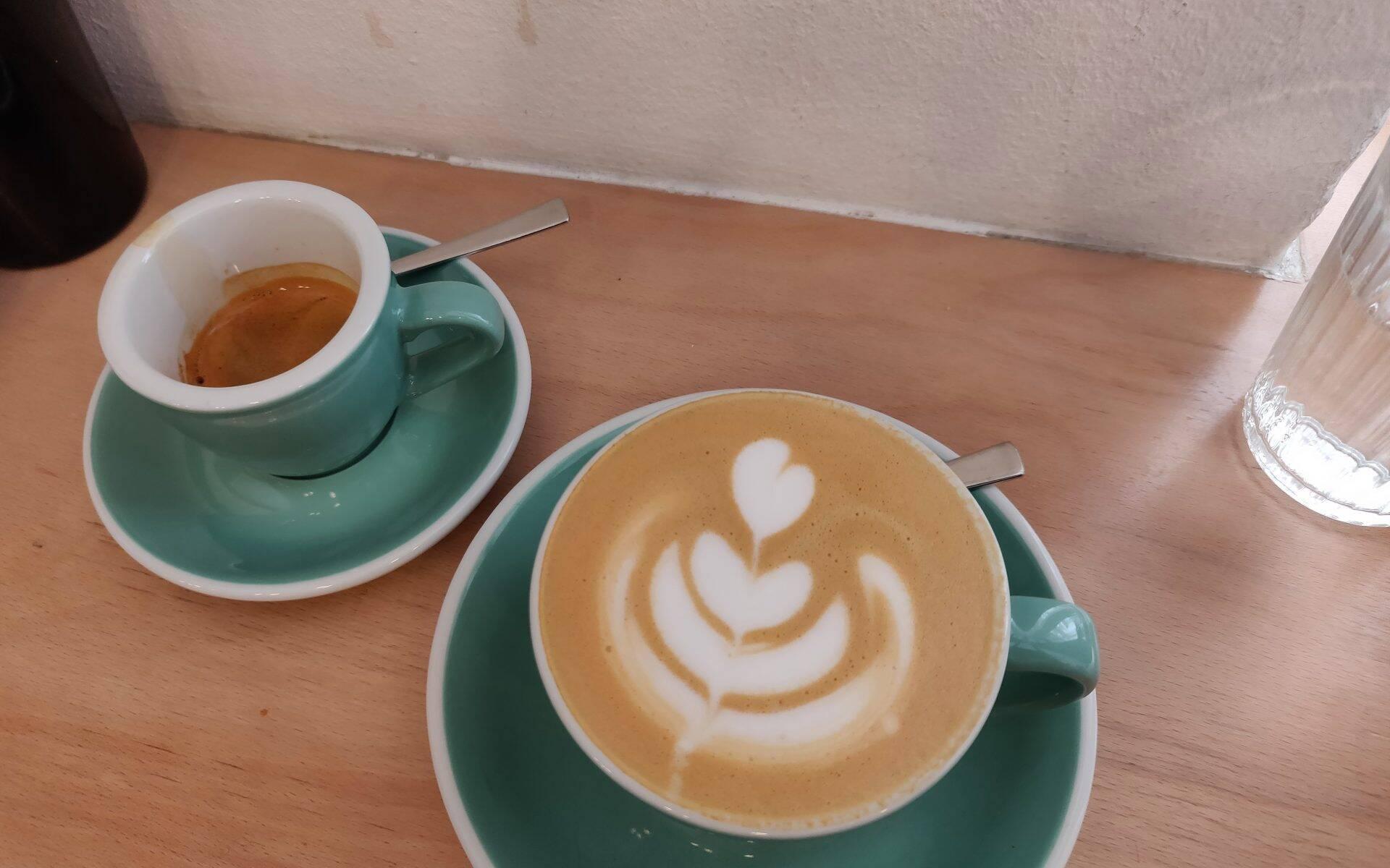 Onesip coffee Praag