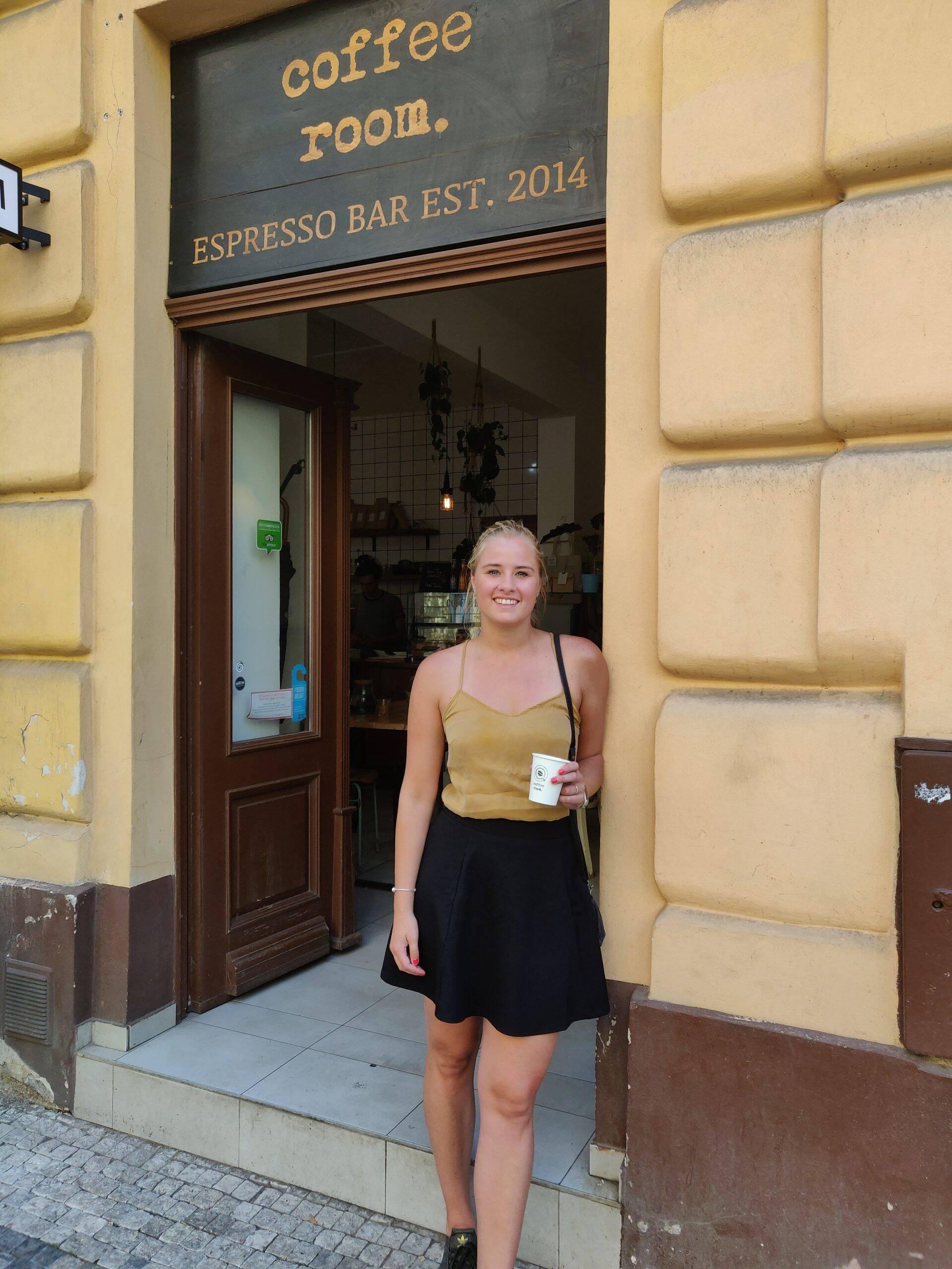 Coffee Room in Praag