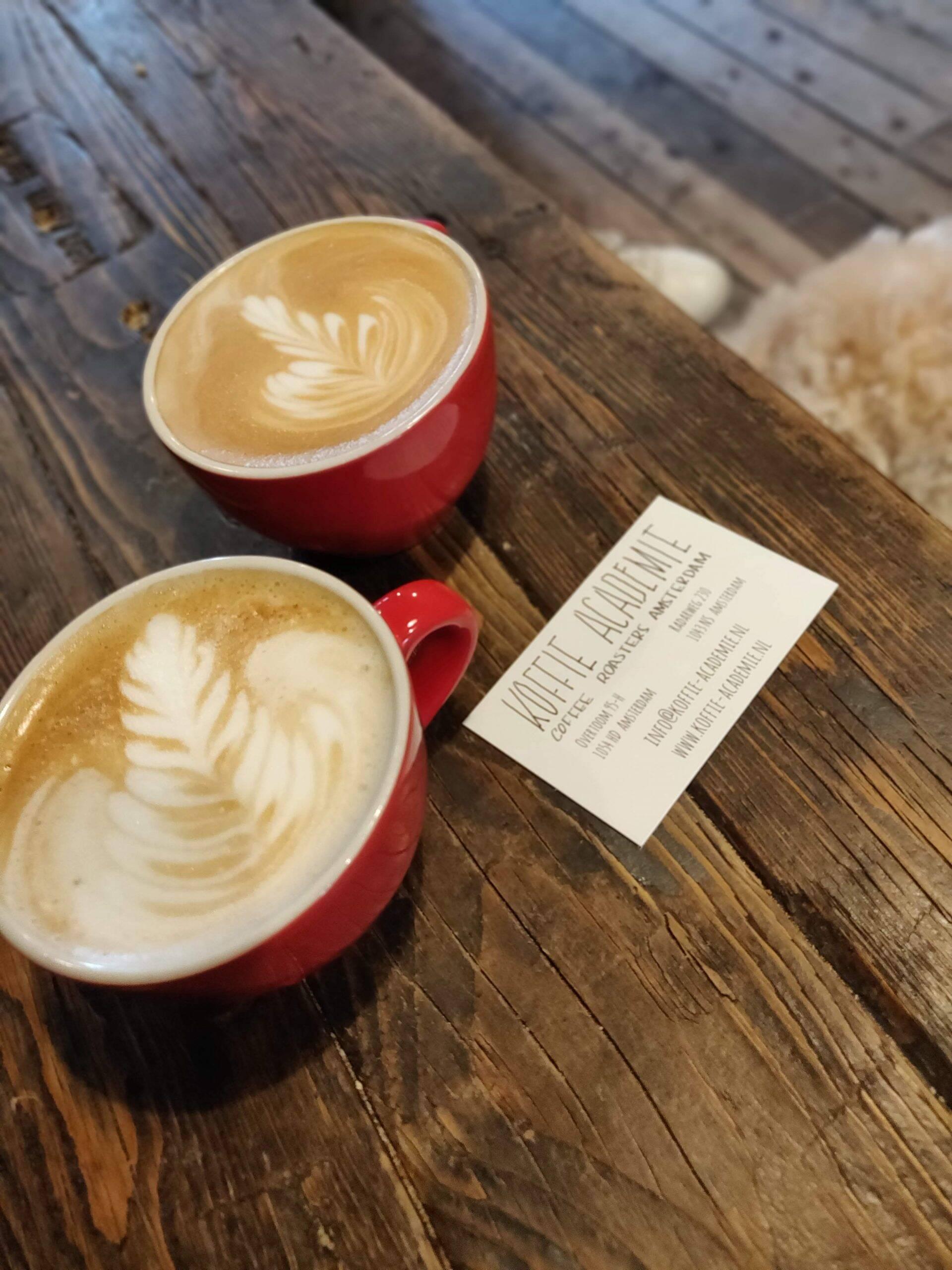 Koffie Academie in Amsterdam