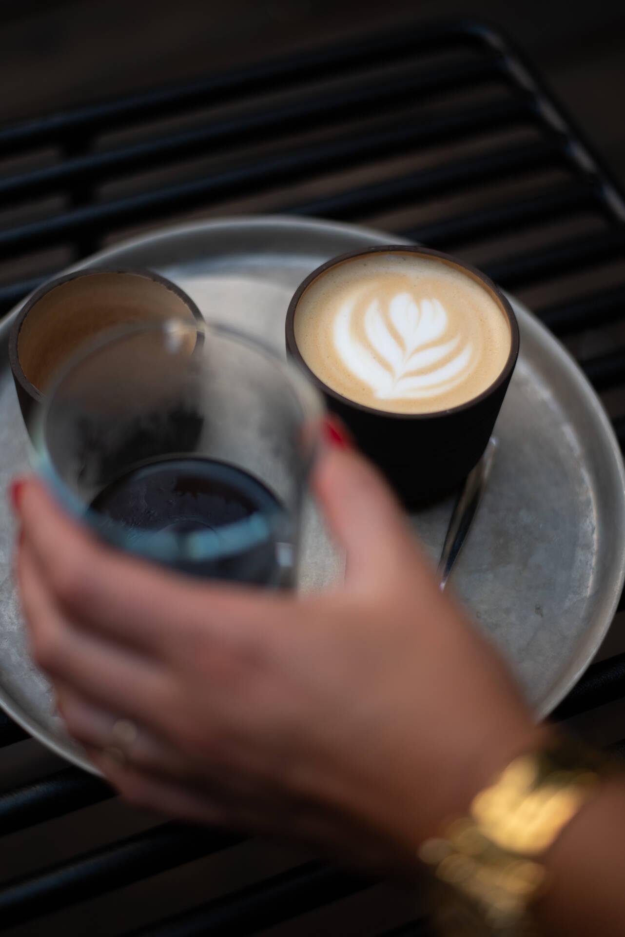 Super Tramp Coffee in Praag