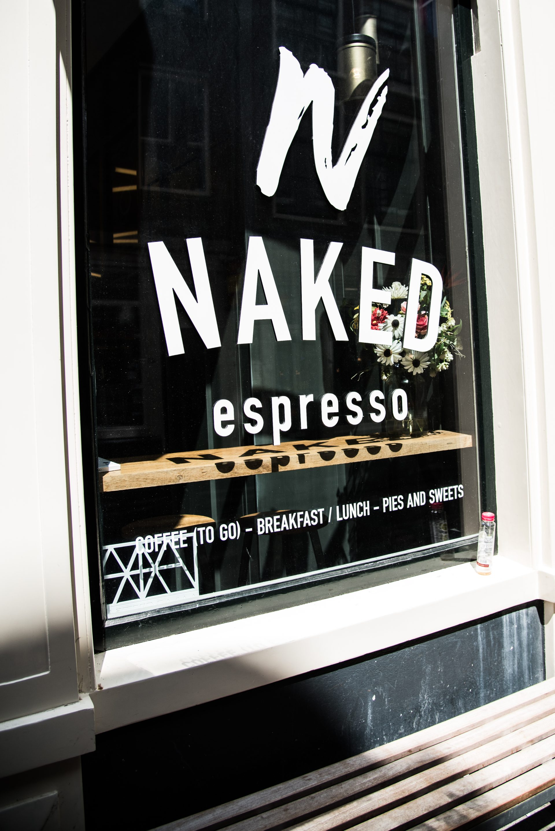 NAKED Espresso in Amsterdam
