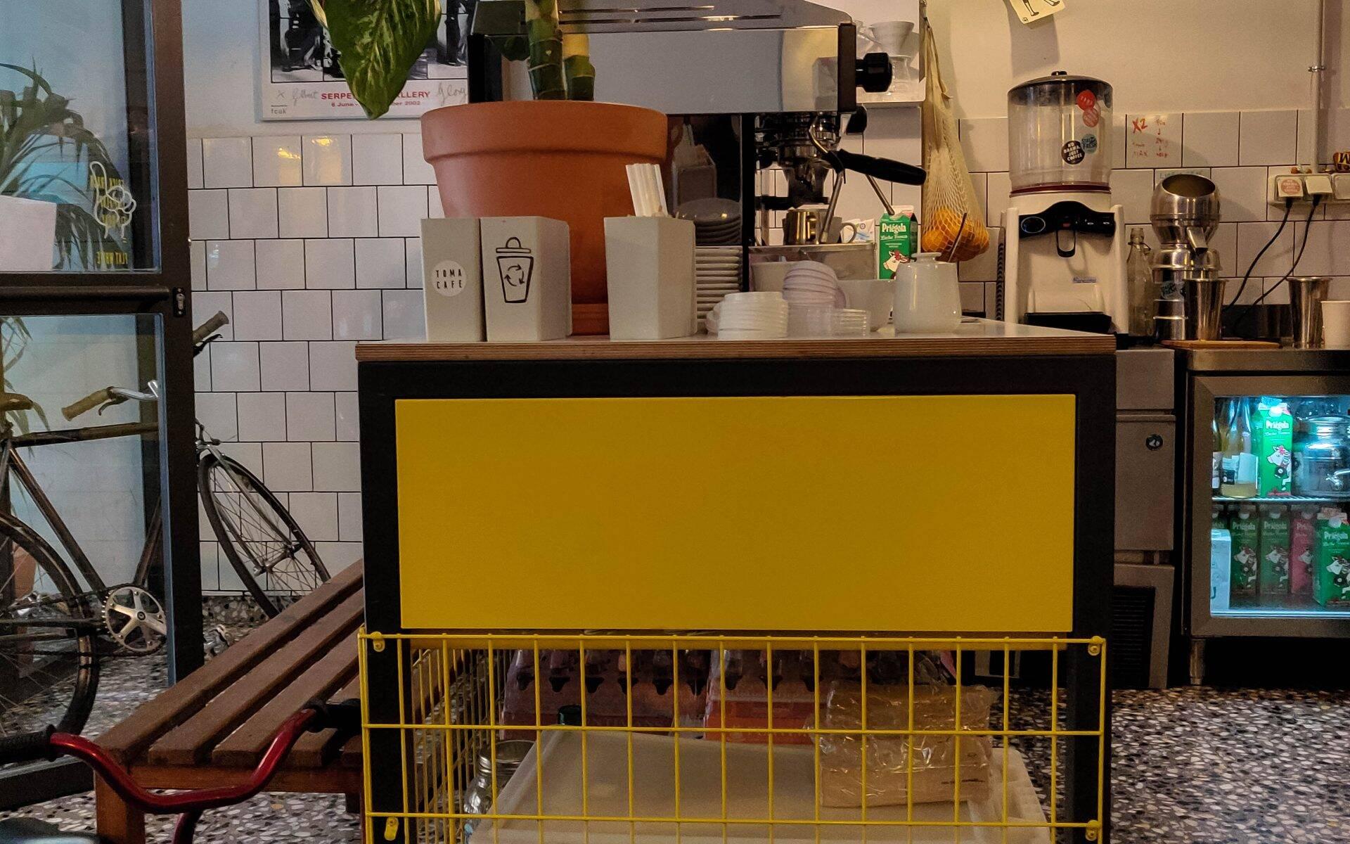 Toma Café Olavide Madrid