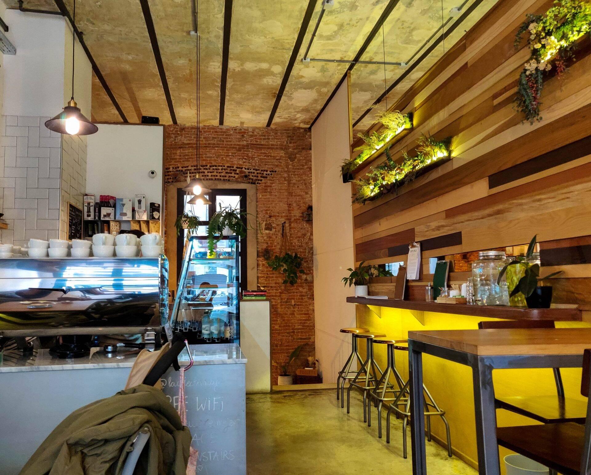 La Colectiva Café in Madrid