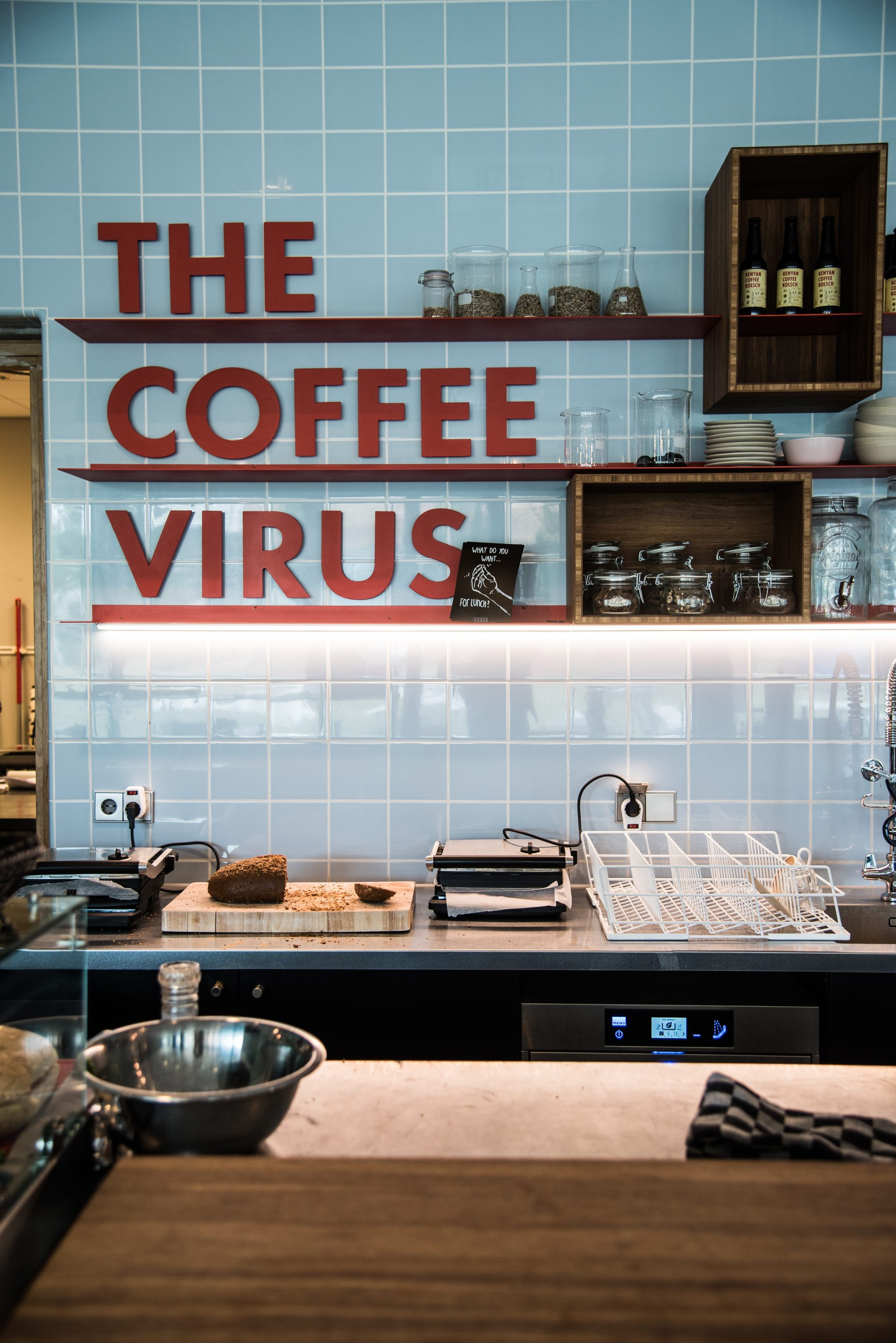 The Coffee Virus in Amsterdam