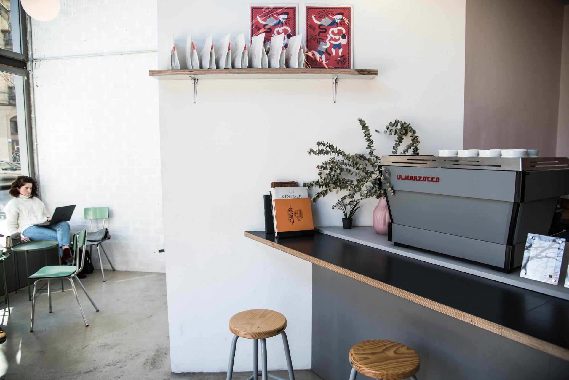 Three Marks Coffee in Barcelona