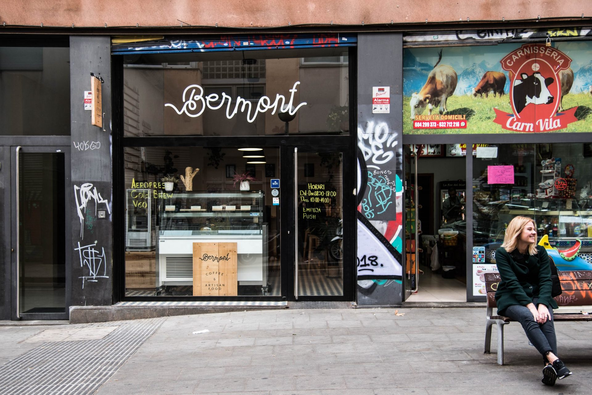 Bermont Coffee in Barcelona