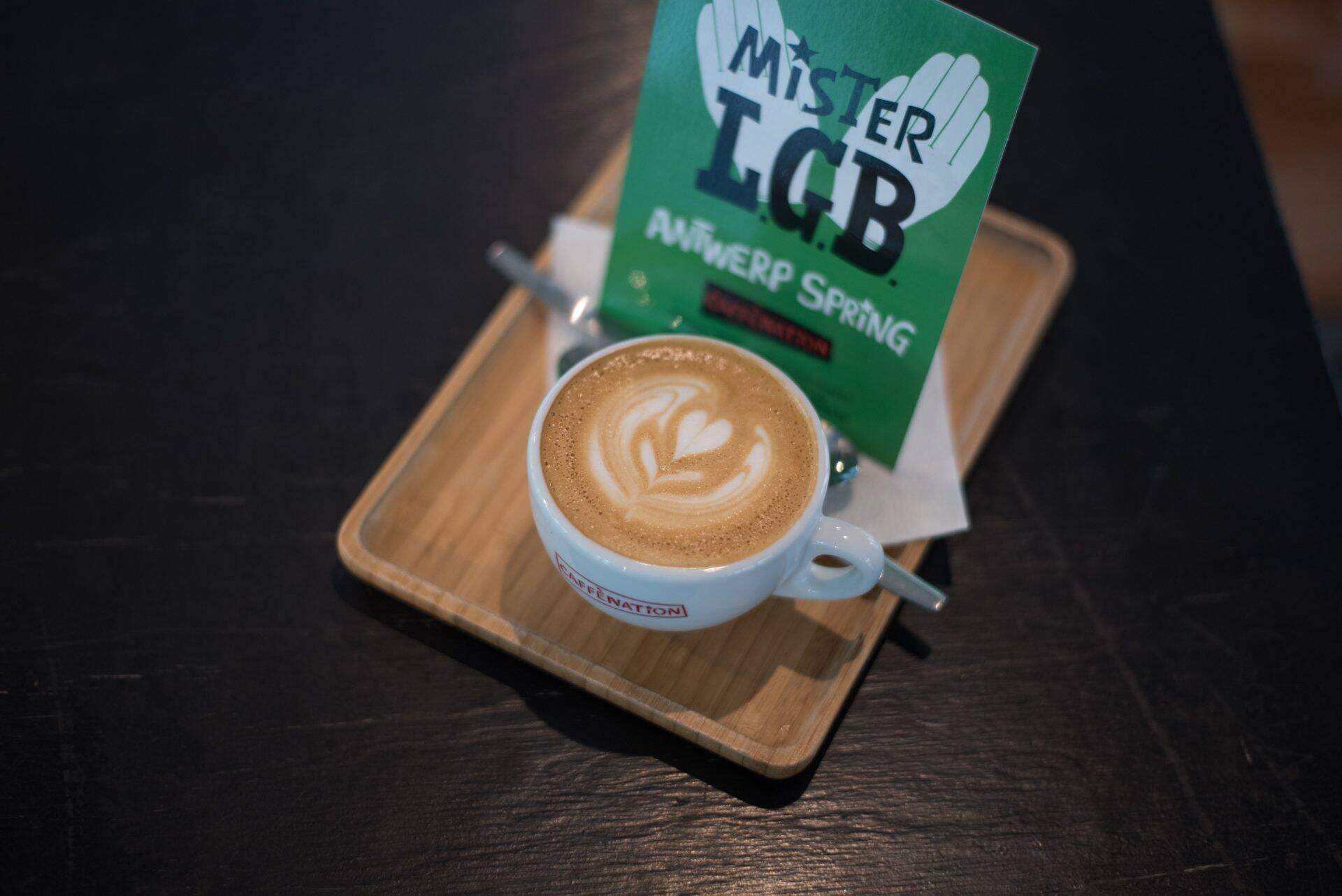 Caffènation Specialty Coffee Roastery in Antwerpen