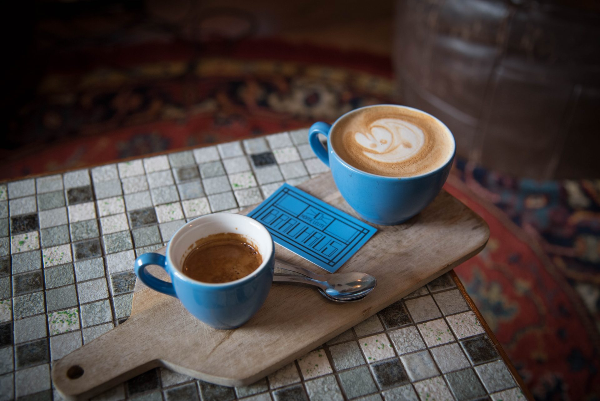 Koffie Leute Brauhaus in Utrecht