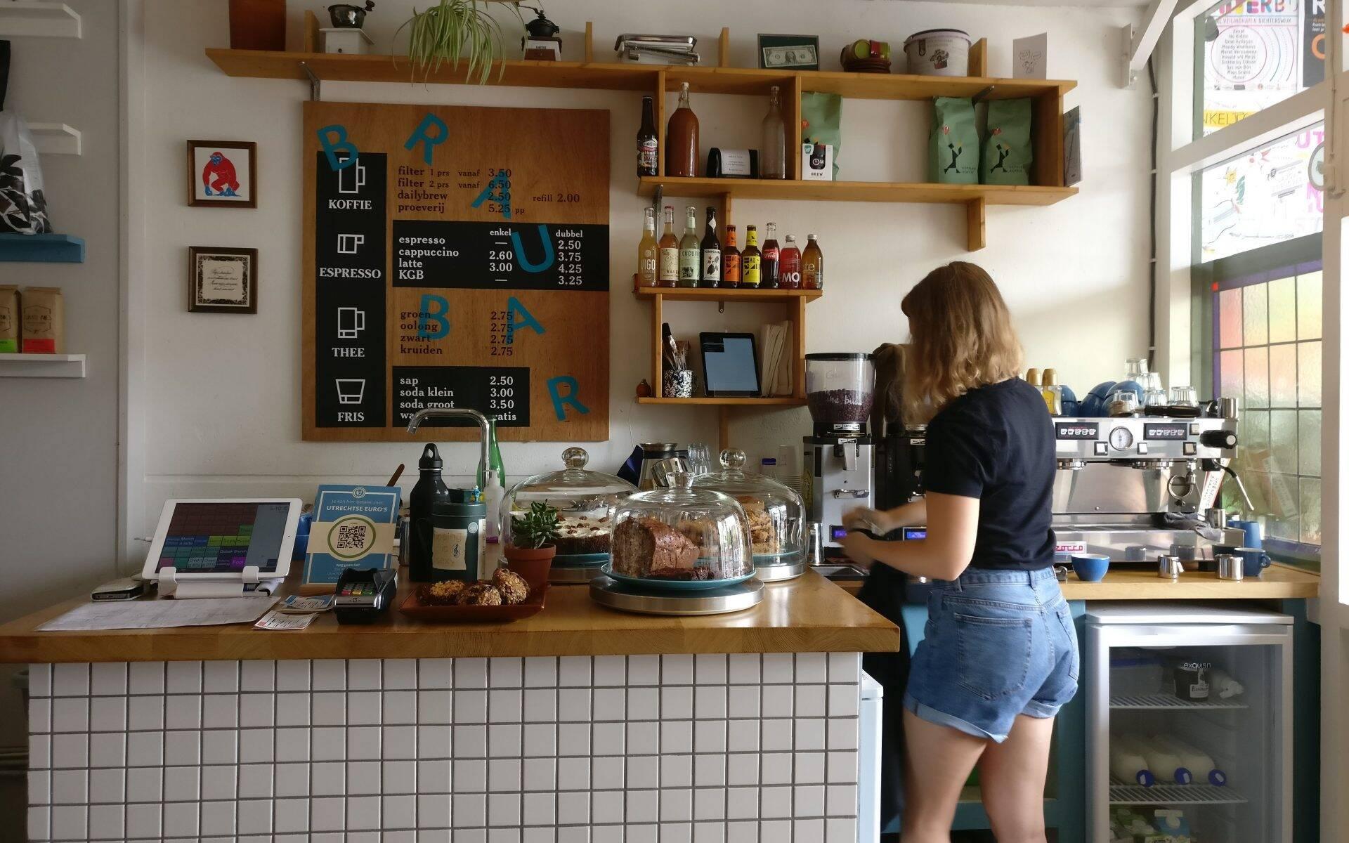 Koffie Leute Brauhaus Utrecht