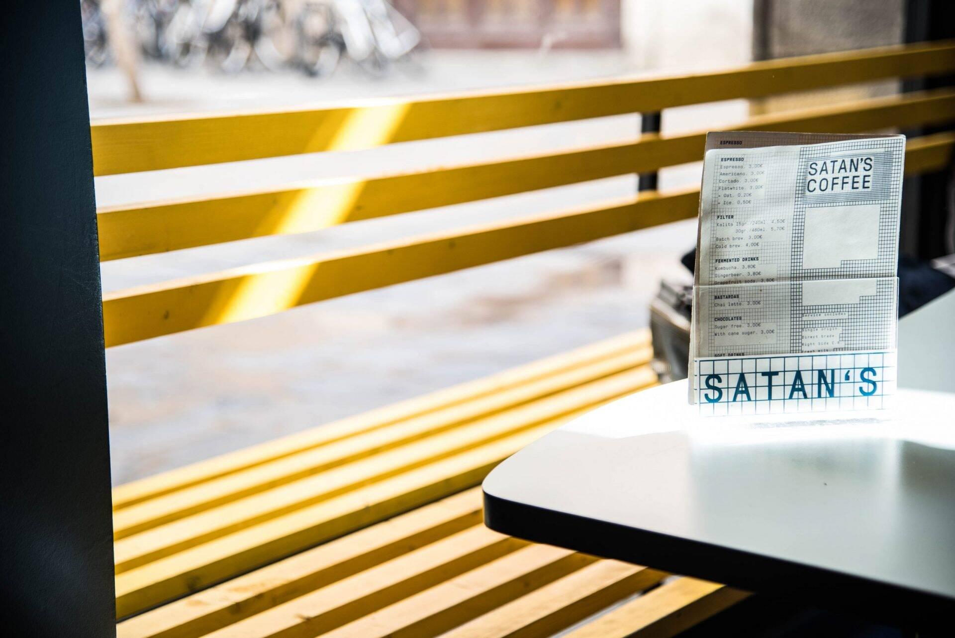 Satan's Coffee Corner in Barcelona