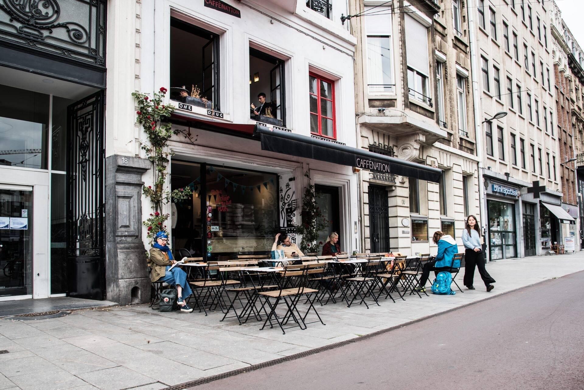 Caffènation in Antwerpen