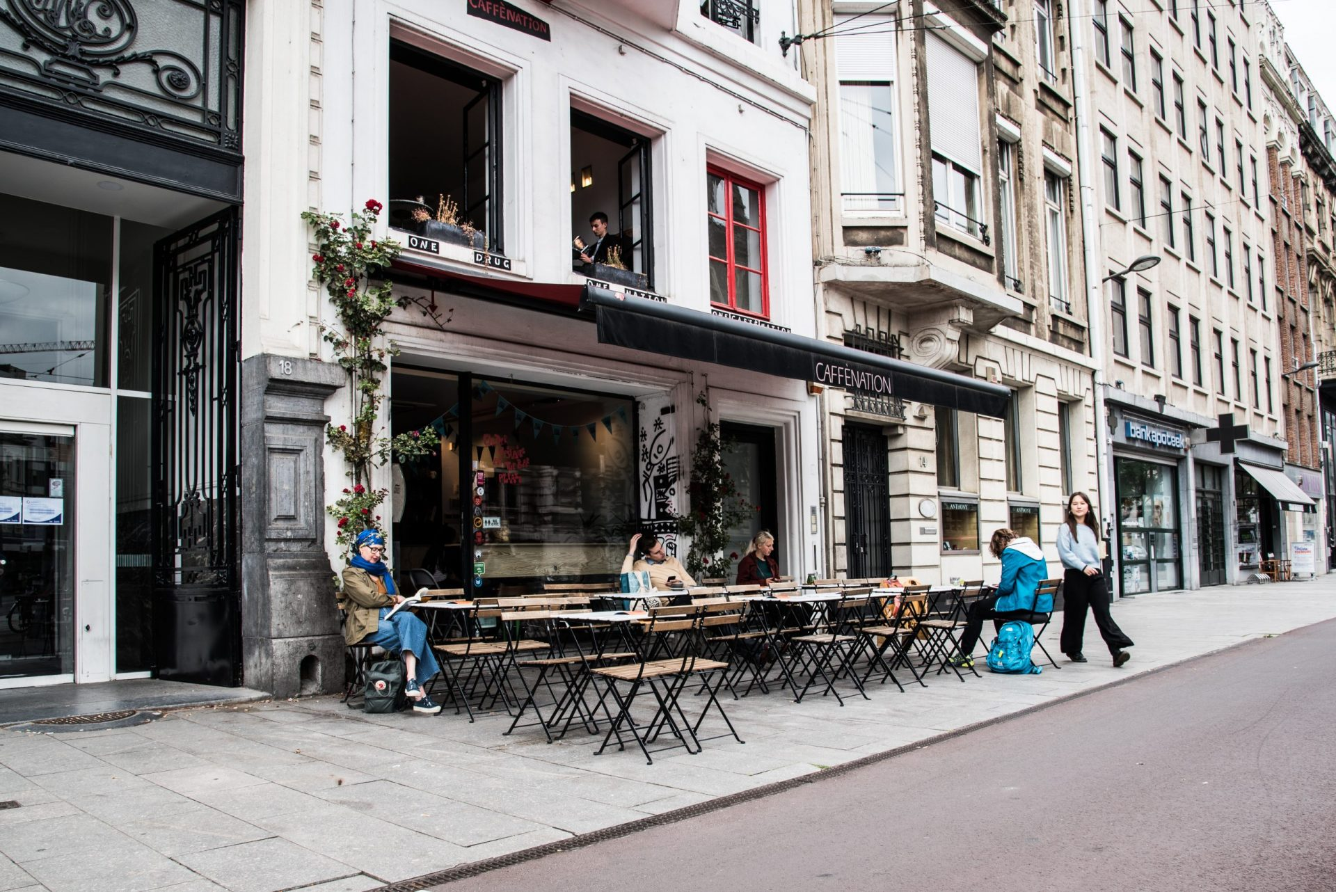 Caffènation in Antwerpen