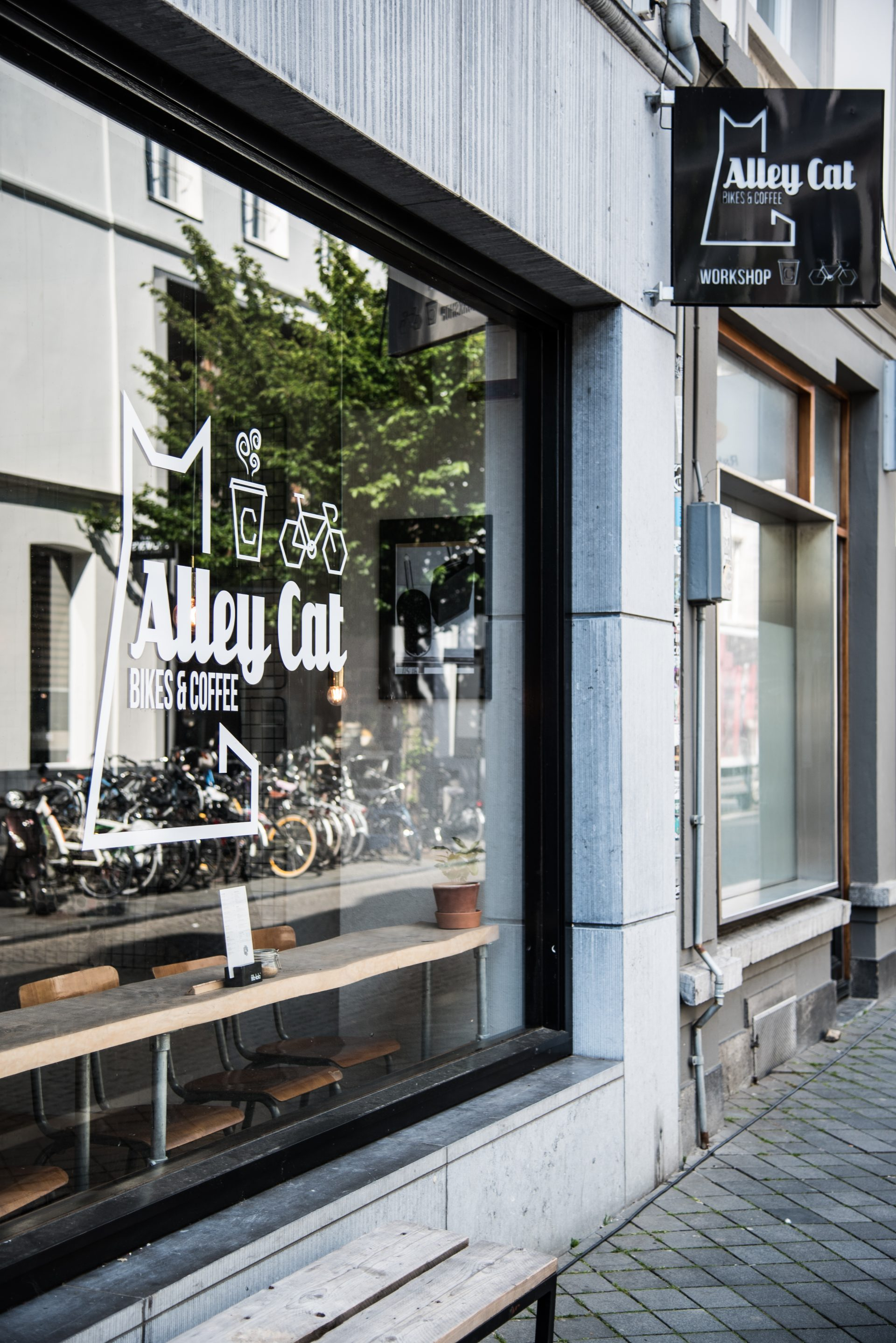 Alley Cat Bikes & Coffee in Maastricht