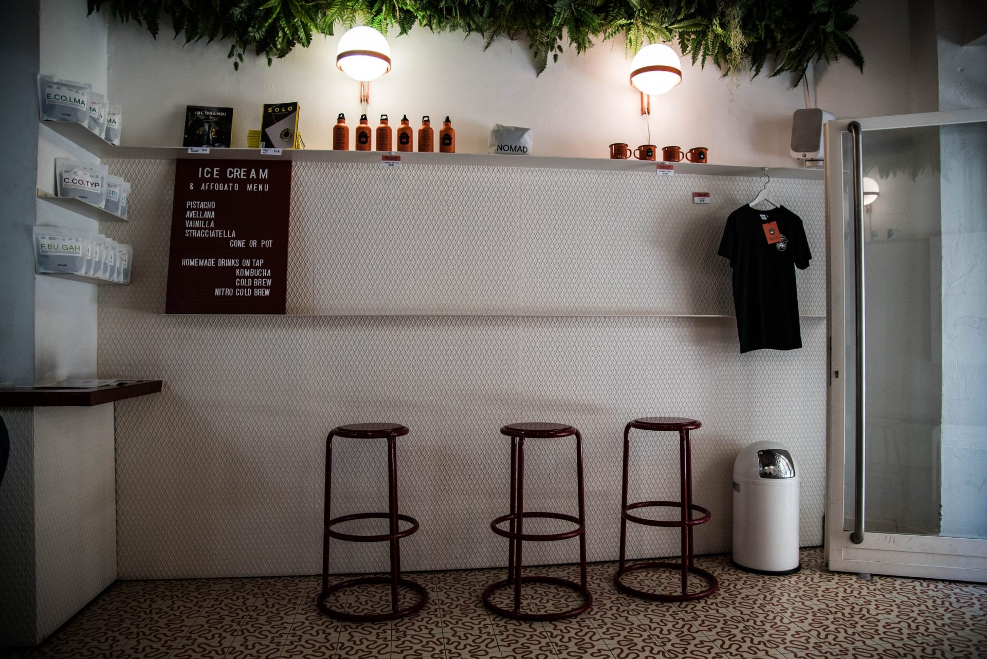 NØMAD Coffee in Barcelona