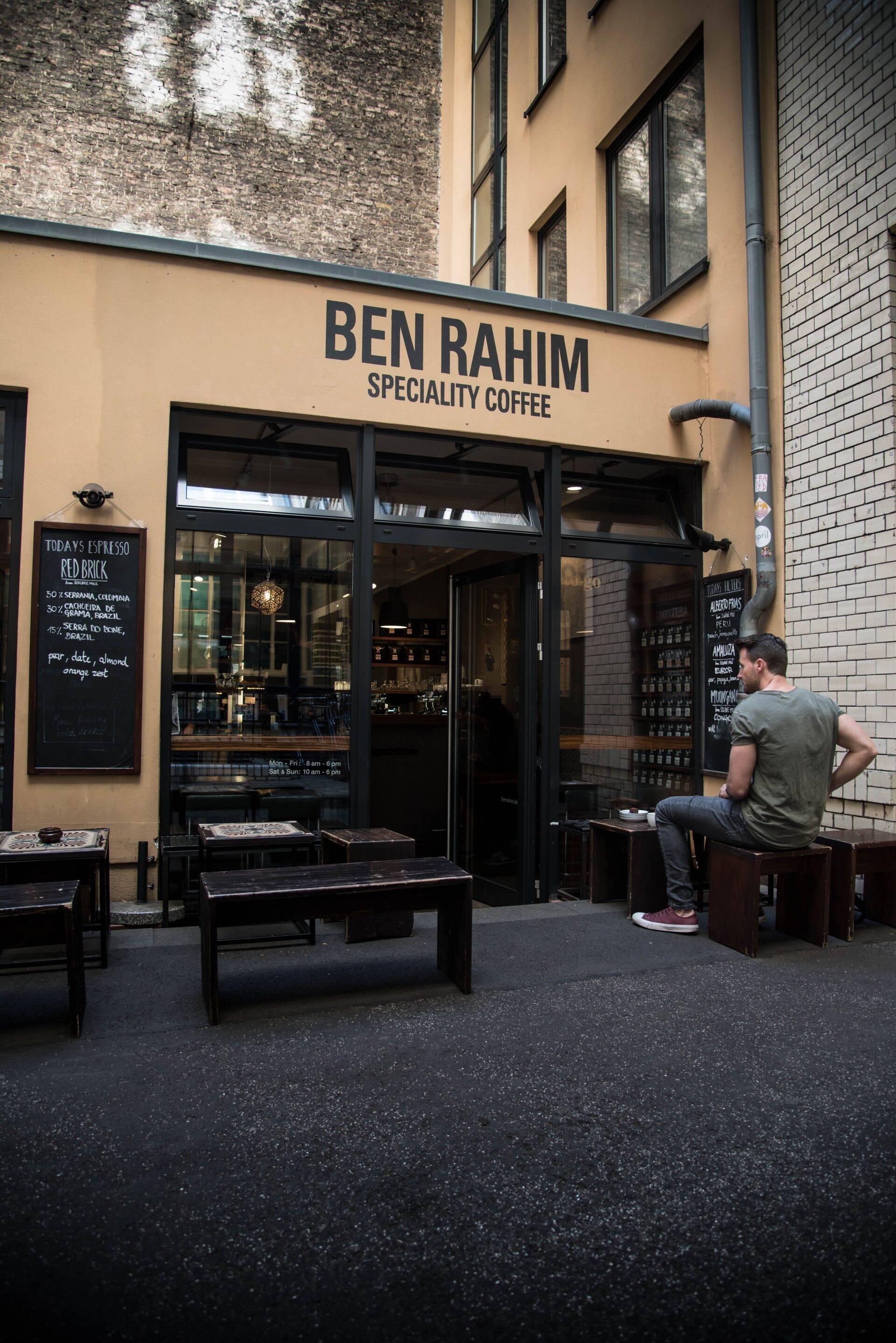 Ben Rahim in Berlijn
