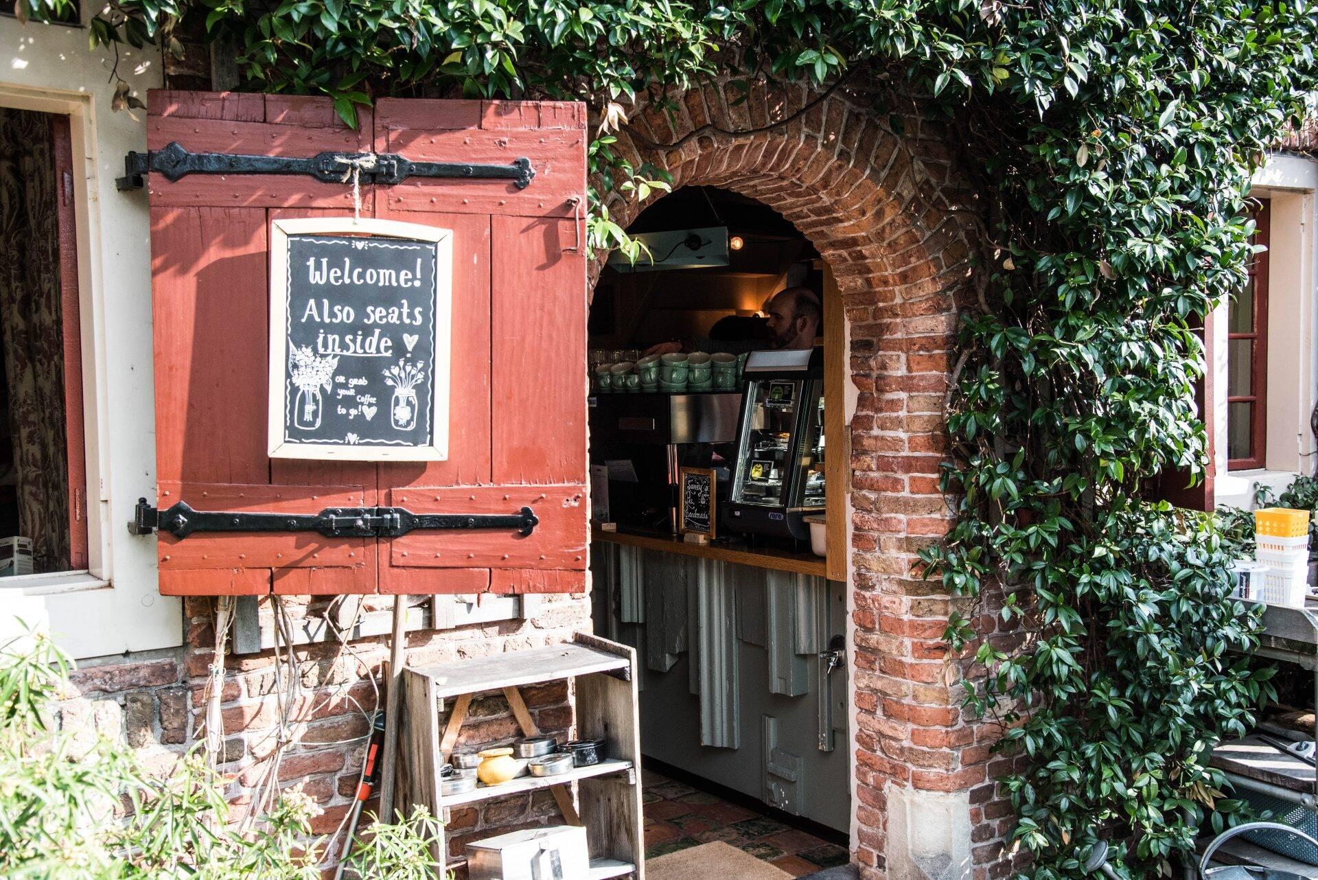 De Koffieschenkerij in Amsterdam
