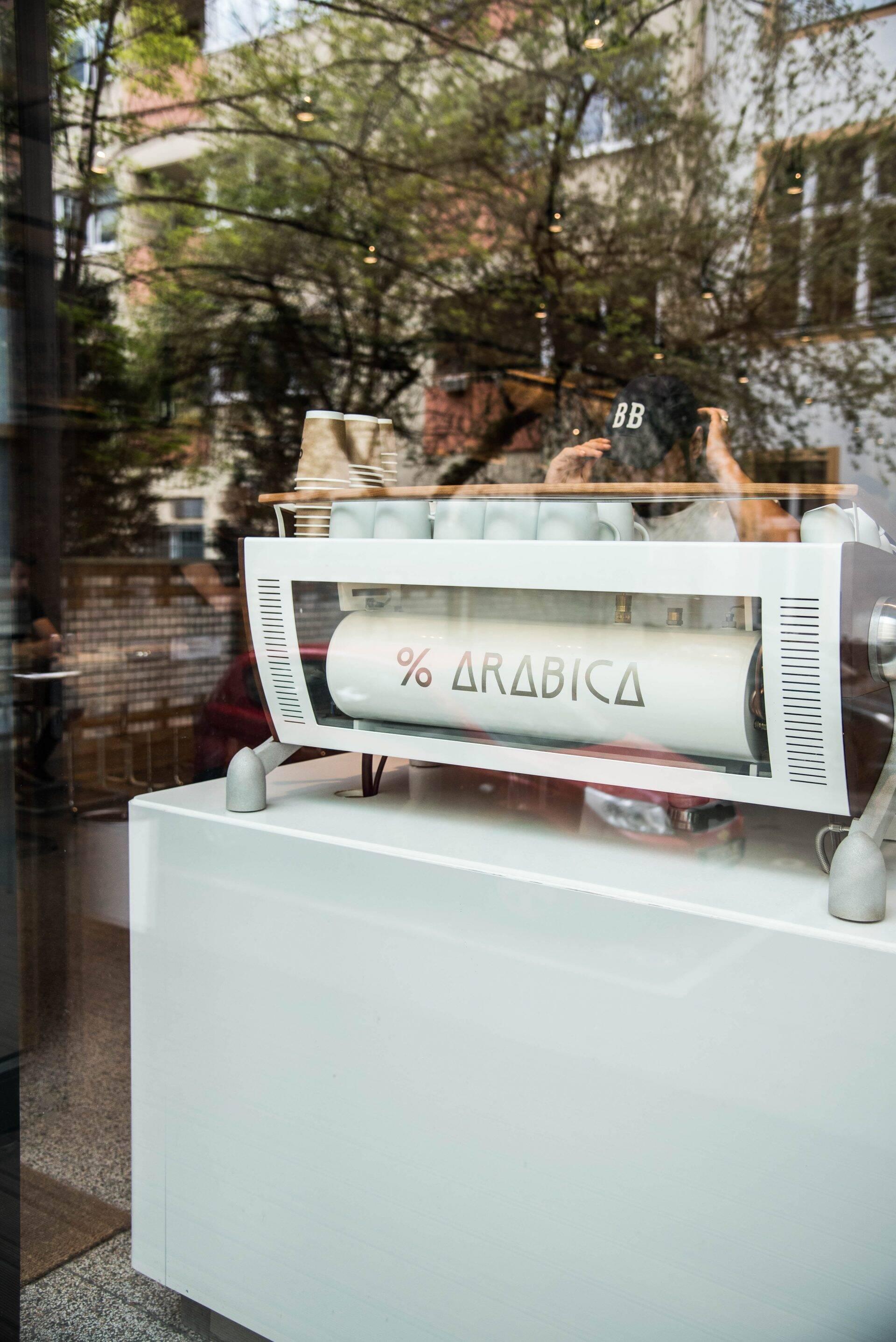 % Arabica Berlin Kreuzberg in Berlijn