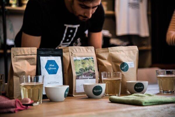 Coffee cupping bij 't Koffieboontje in Utrecht