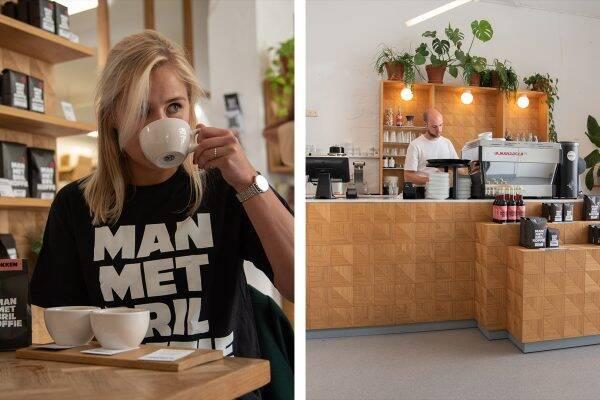 Man met Bril koffie Rotterdam