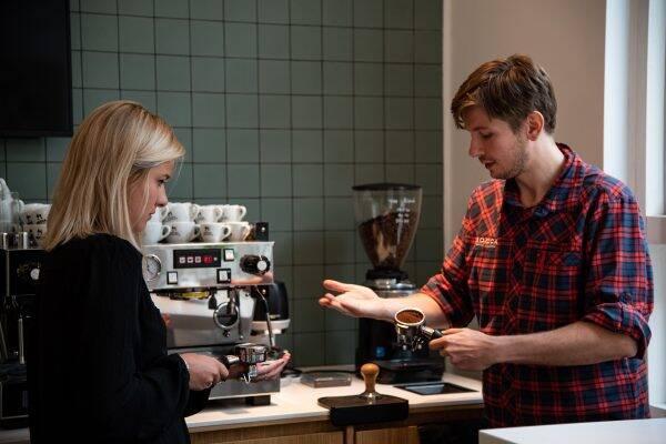 Espresso workshop bij Bocca