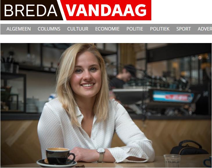 Interview met Breda Vandaag over de koffiemarathon