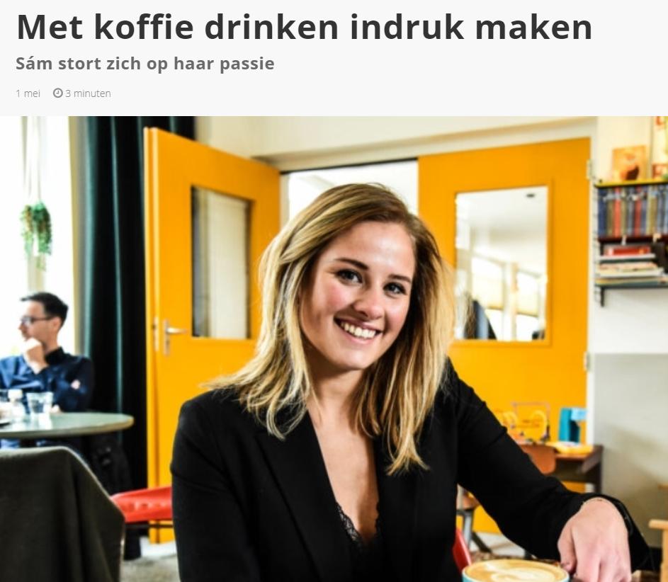 Interview met Indebuurt Eindhoven over Koffietje.nl