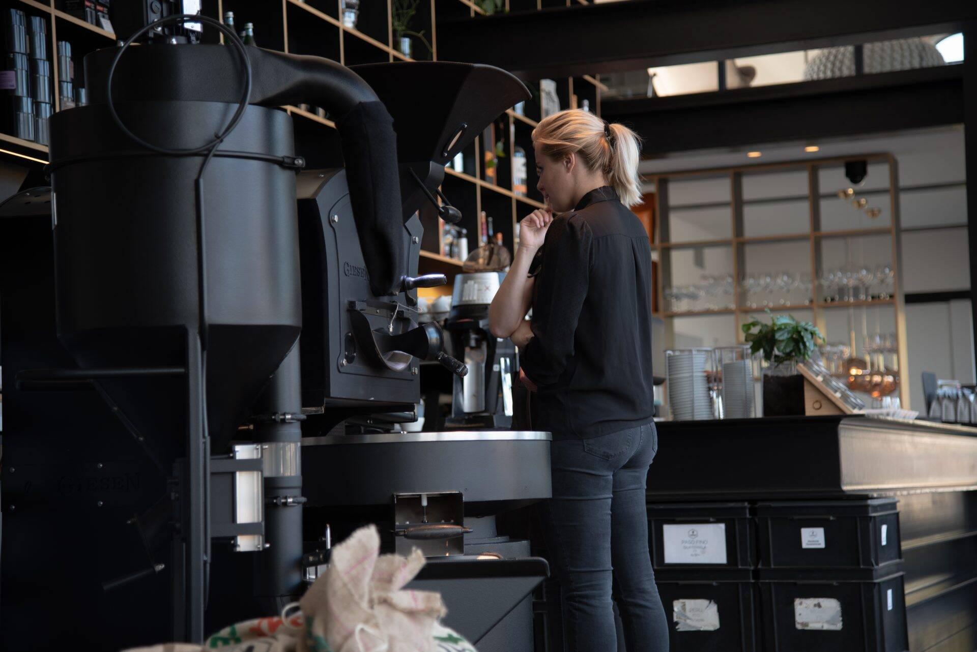 Primeurtje: Ik mag voor het eerst koffie branden!
