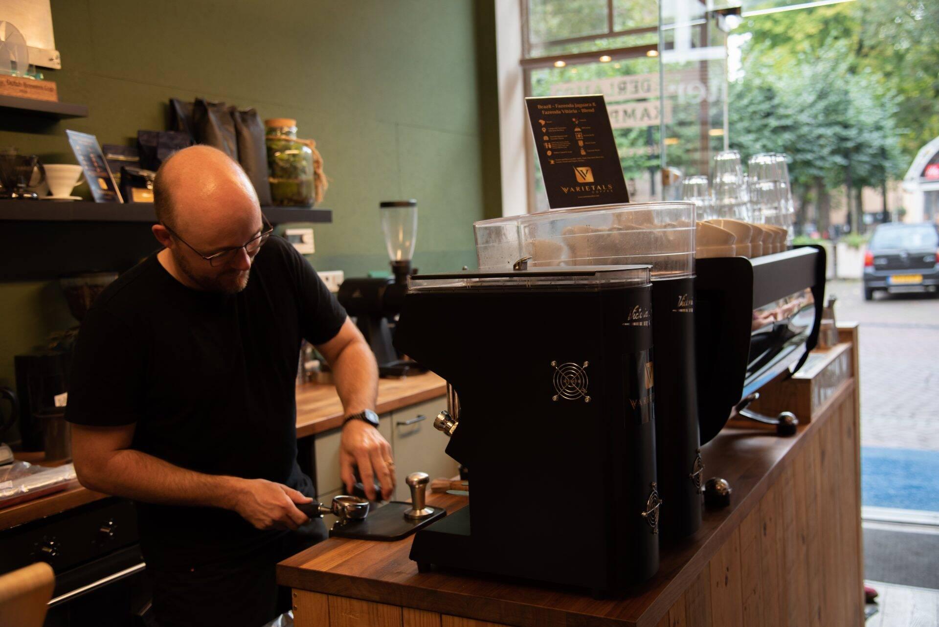 Eindelijk Sam's Coffee…