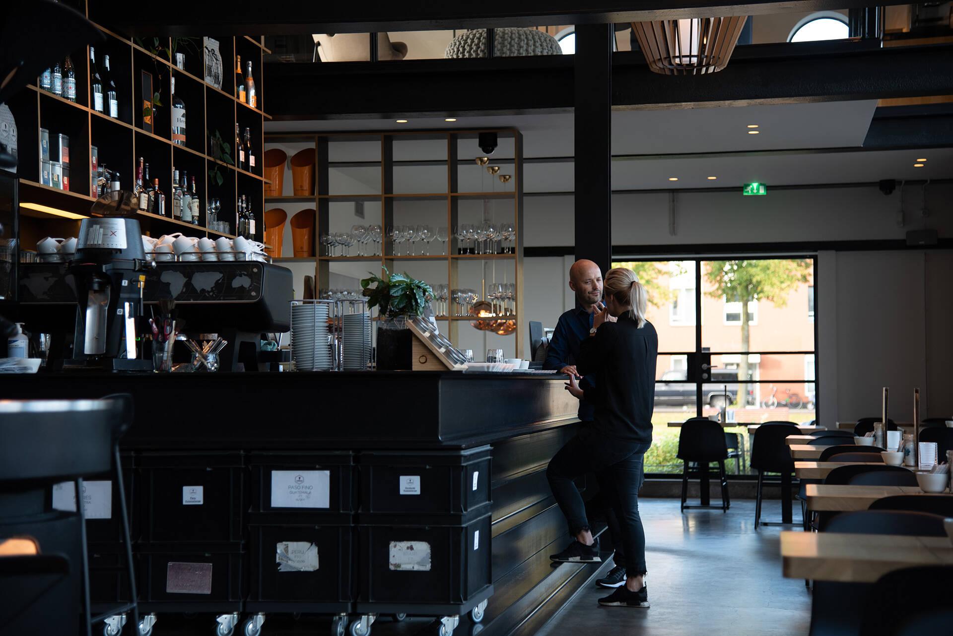 Capriole Café in Den Haag