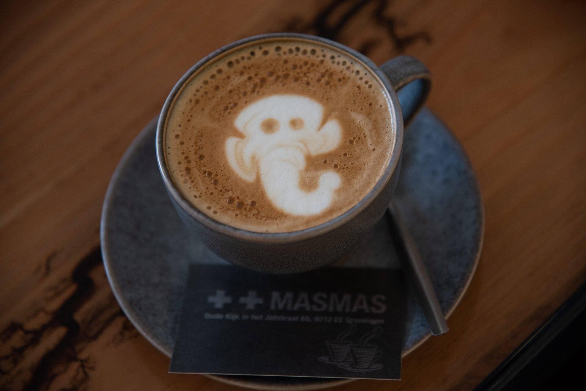 Waar zijn alle koffiebars in Groningen?
