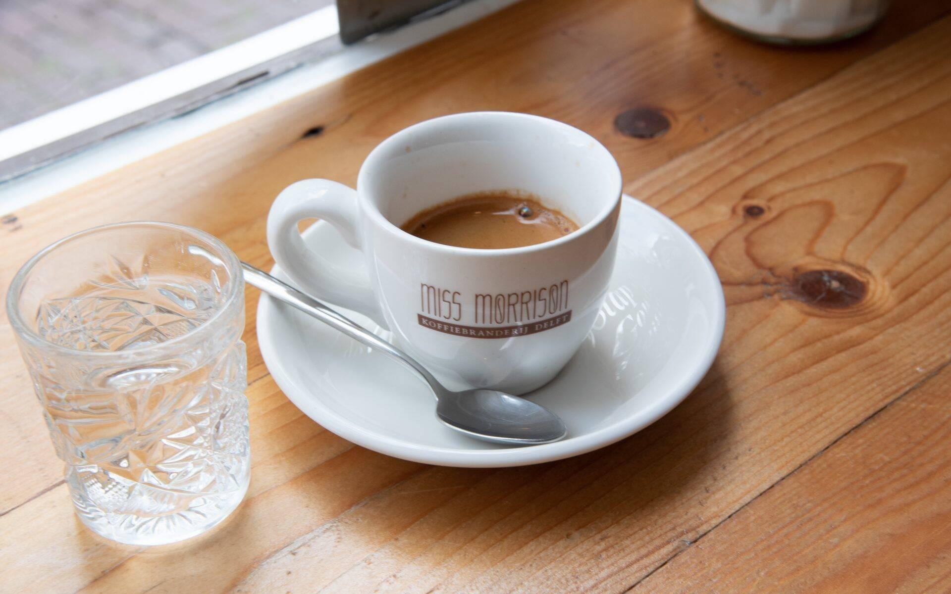 Miss Morrison Koffiebranderij Delft