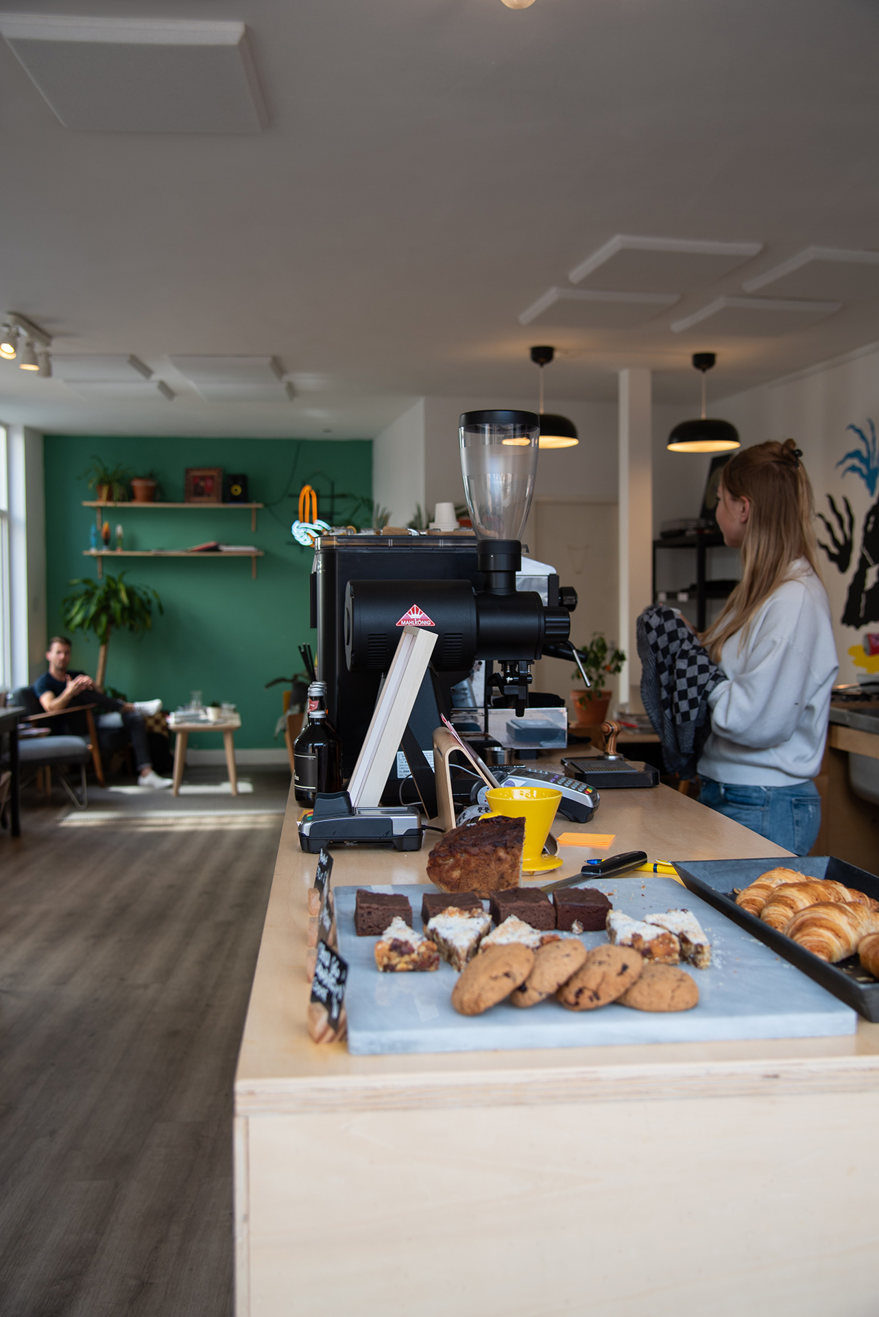 Tigershark Coffee in Scheveningen