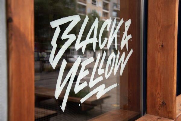 Black & Yellow Antwerpen