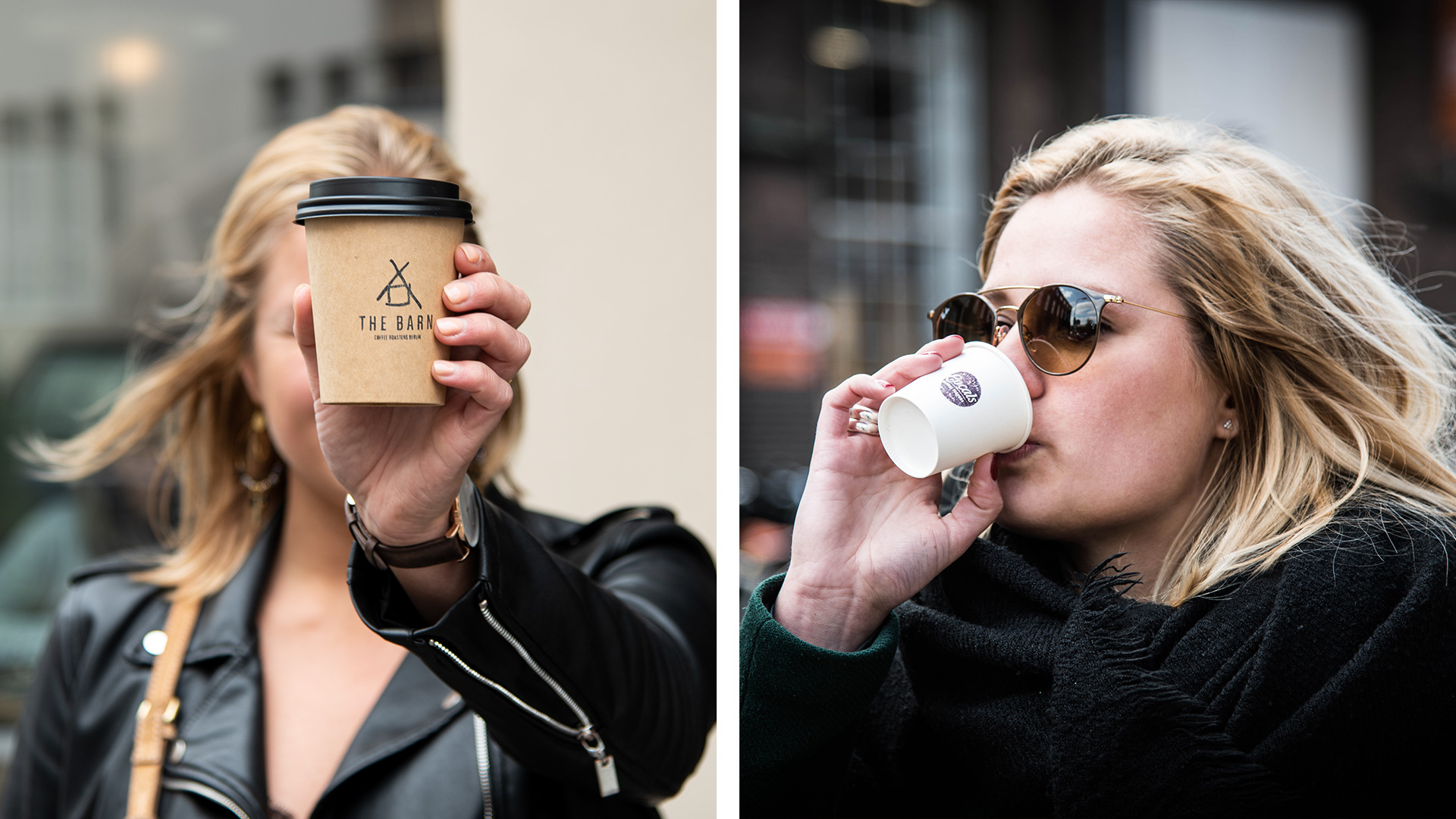 Bedrukte koffiebekertjes