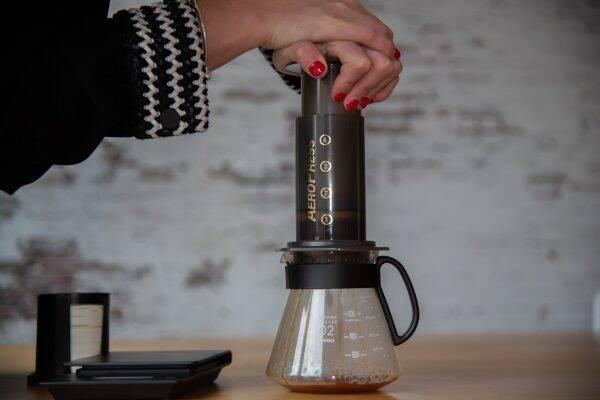 AeroPress koffie maken doe je zo!