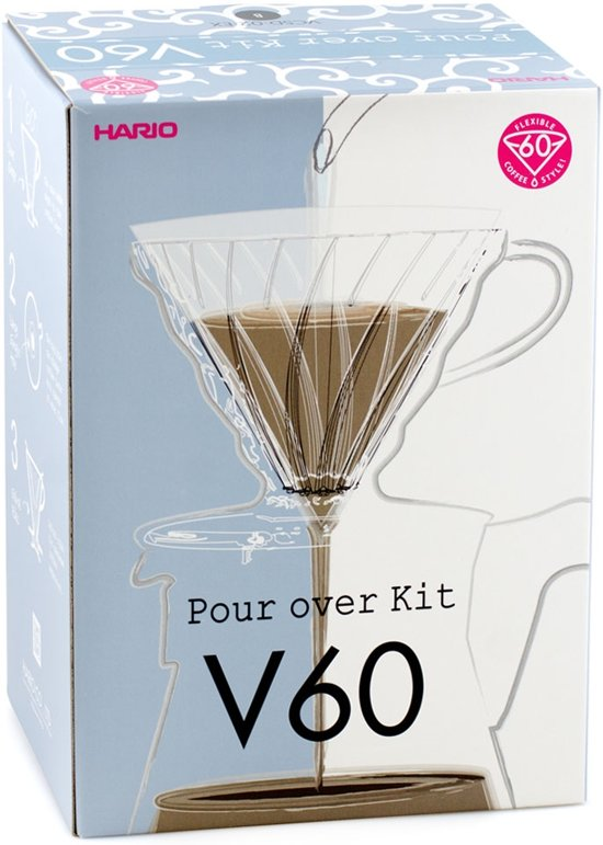 Hario V60 Set (Pour Over Kit)