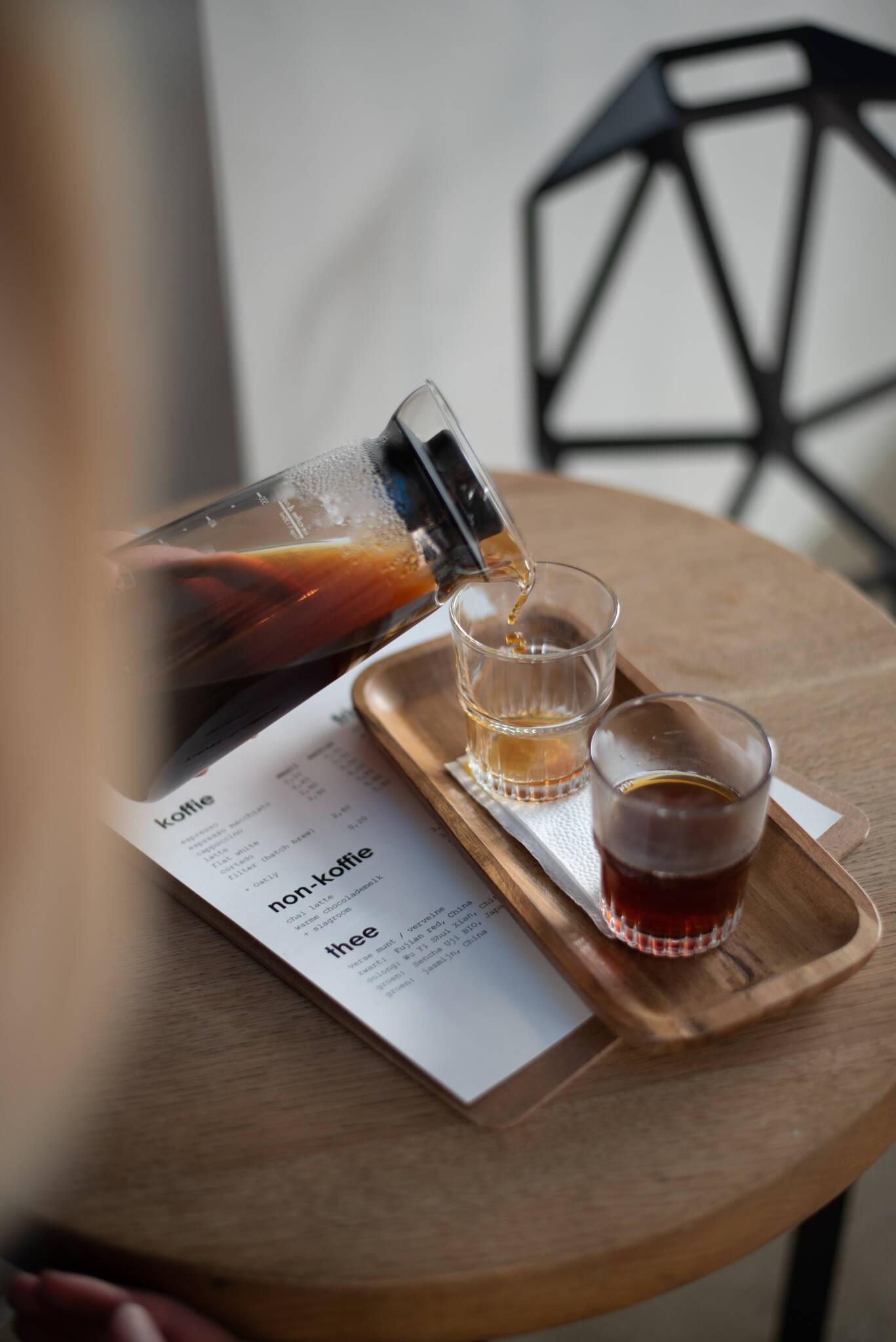 Espressofabriek Zeeburgereiland in Amsterdam