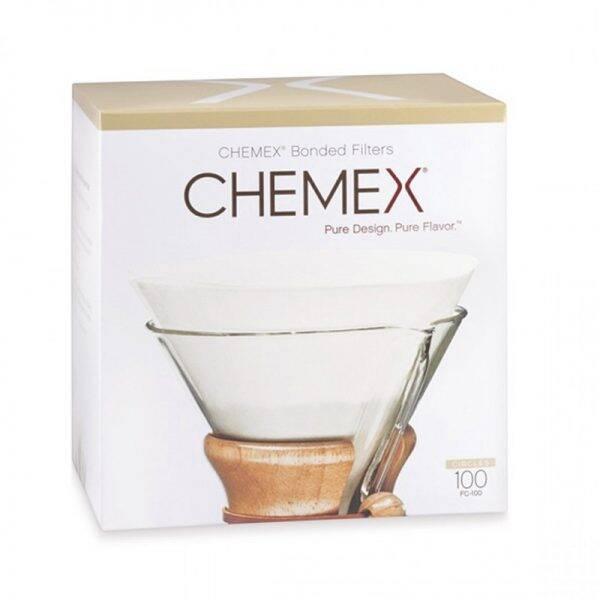 Chemex 6 & 8 kops koffiefilters (100st, rond)