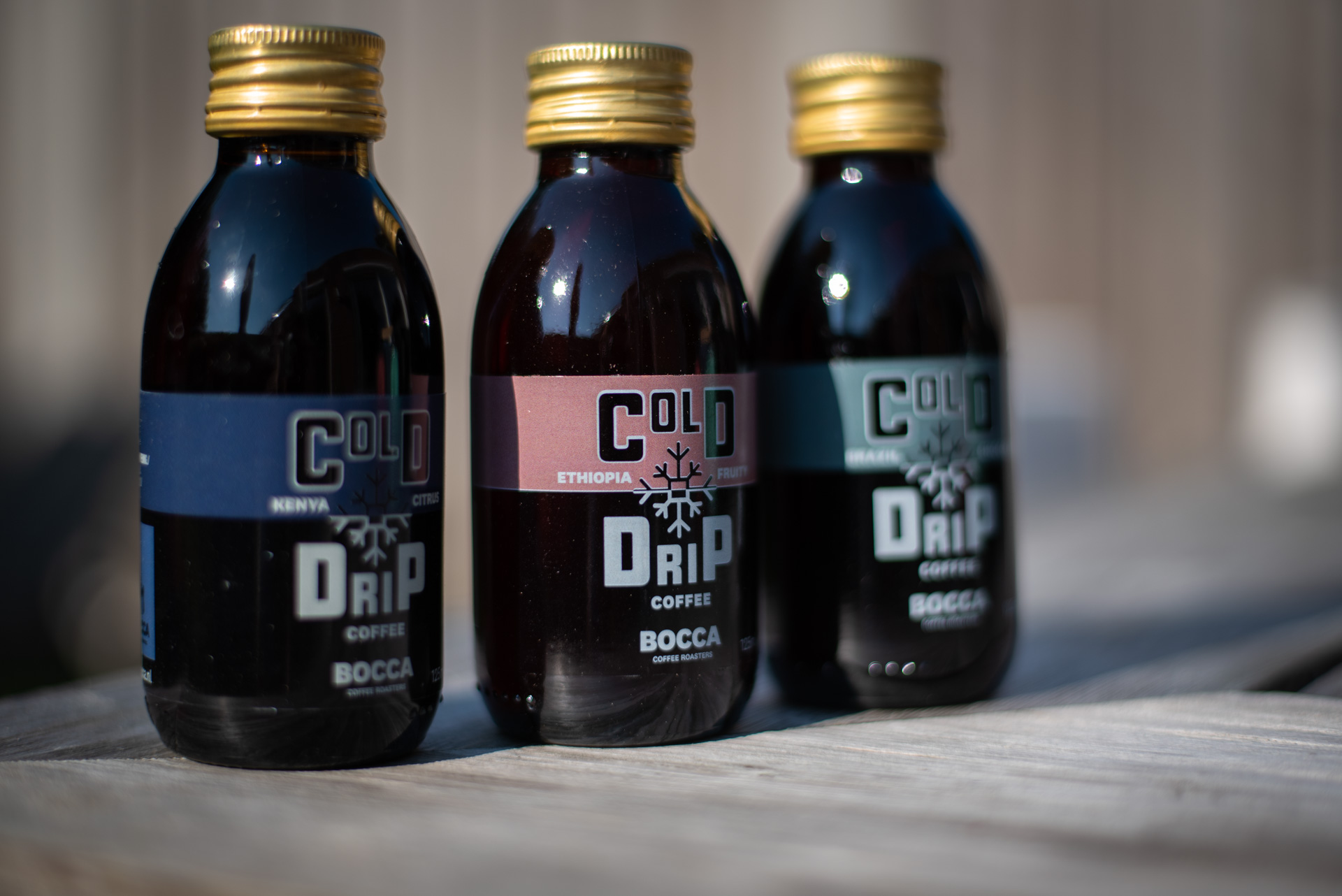 Cold drip coffee van Bocca